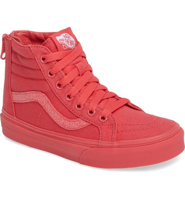 7cbabbf83f455a Vans SK8-Hi Zip Sneaker (Baby