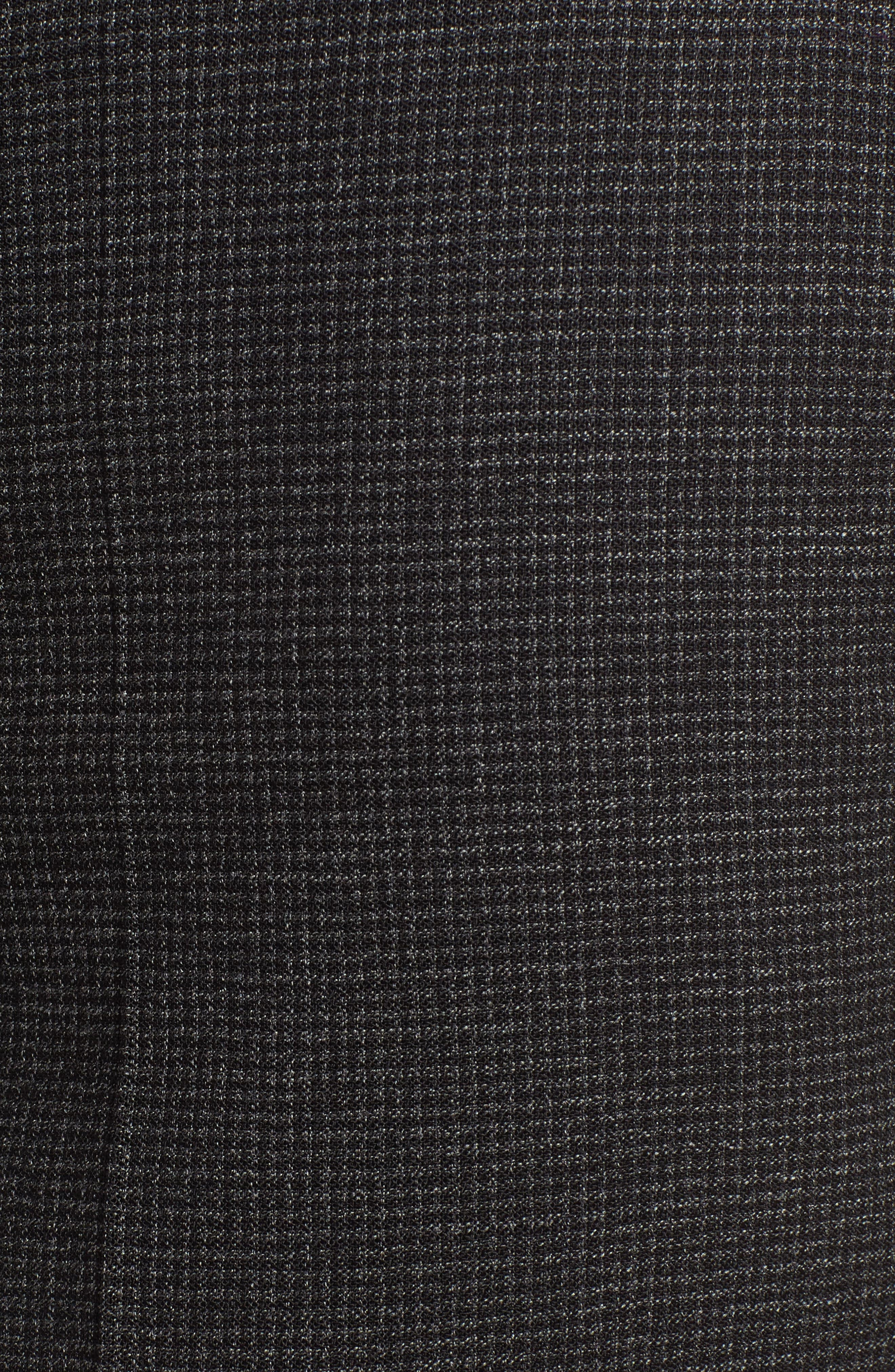 Tafena Check Stretch Wool Pants,                             Alternate thumbnail 5, color,                             006