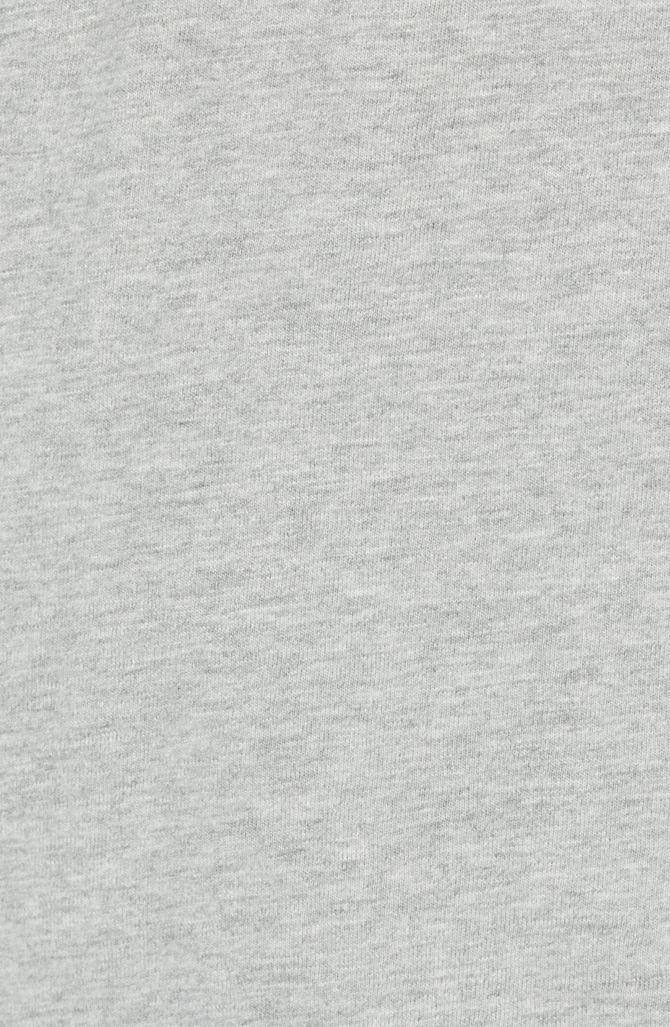 Slim Fit Garment Dyed Slub Cotton Henley,                             Alternate thumbnail 5, color,                             020