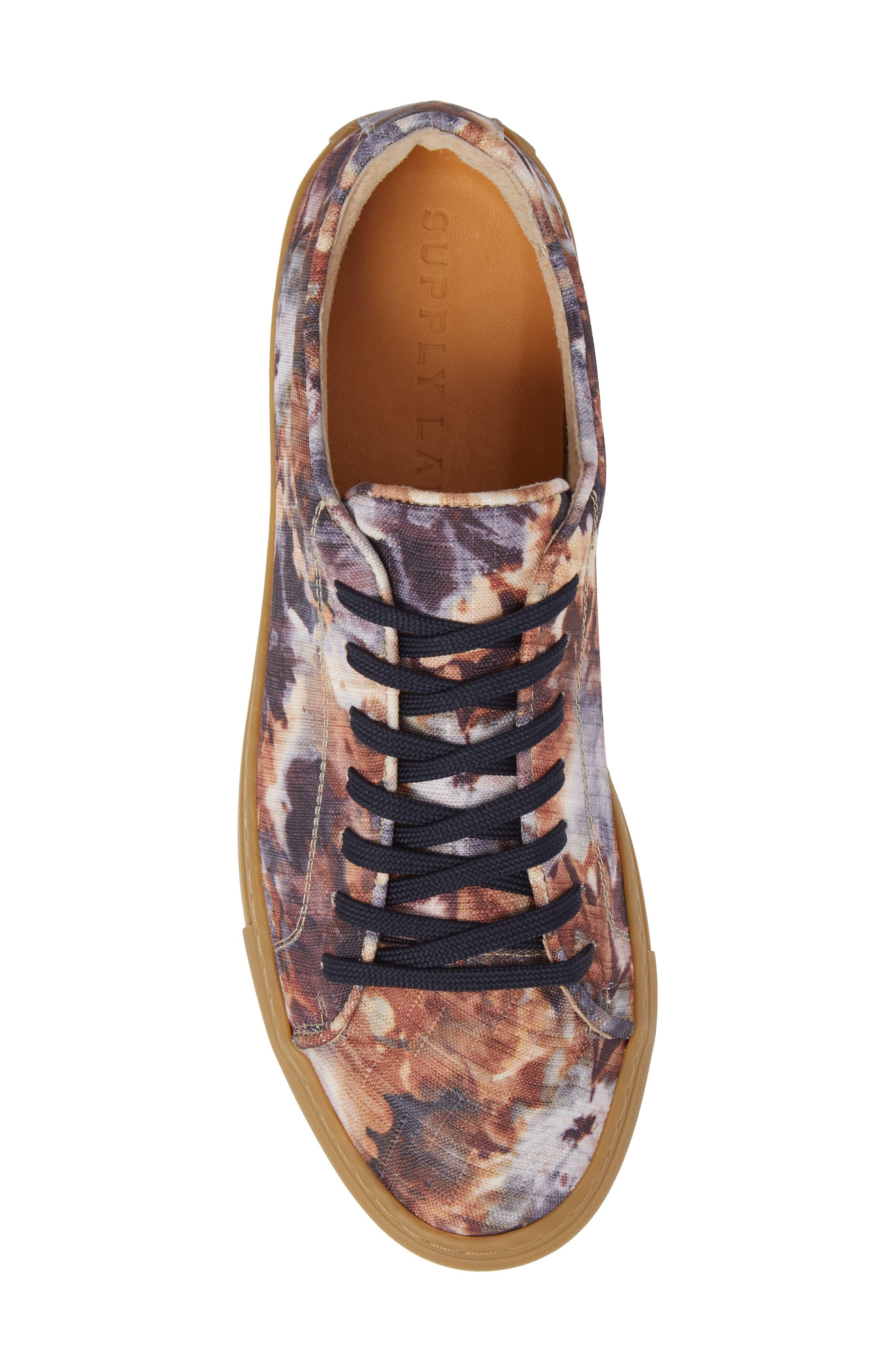 Mason Print Low Top Sneaker,                             Alternate thumbnail 18, color,