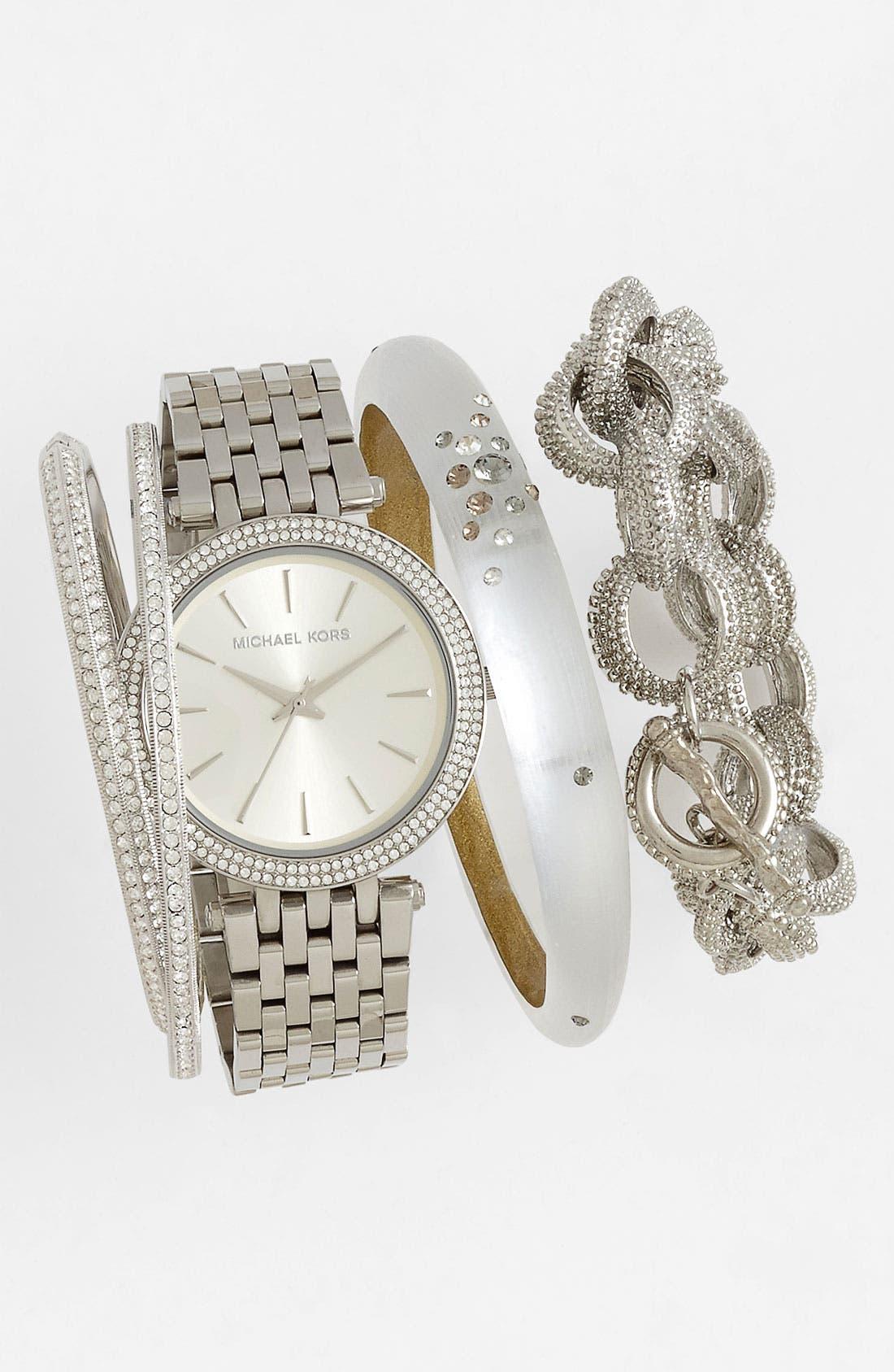 'Darci' Round Bracelet Watch, 39mm,                             Alternate thumbnail 61, color,
