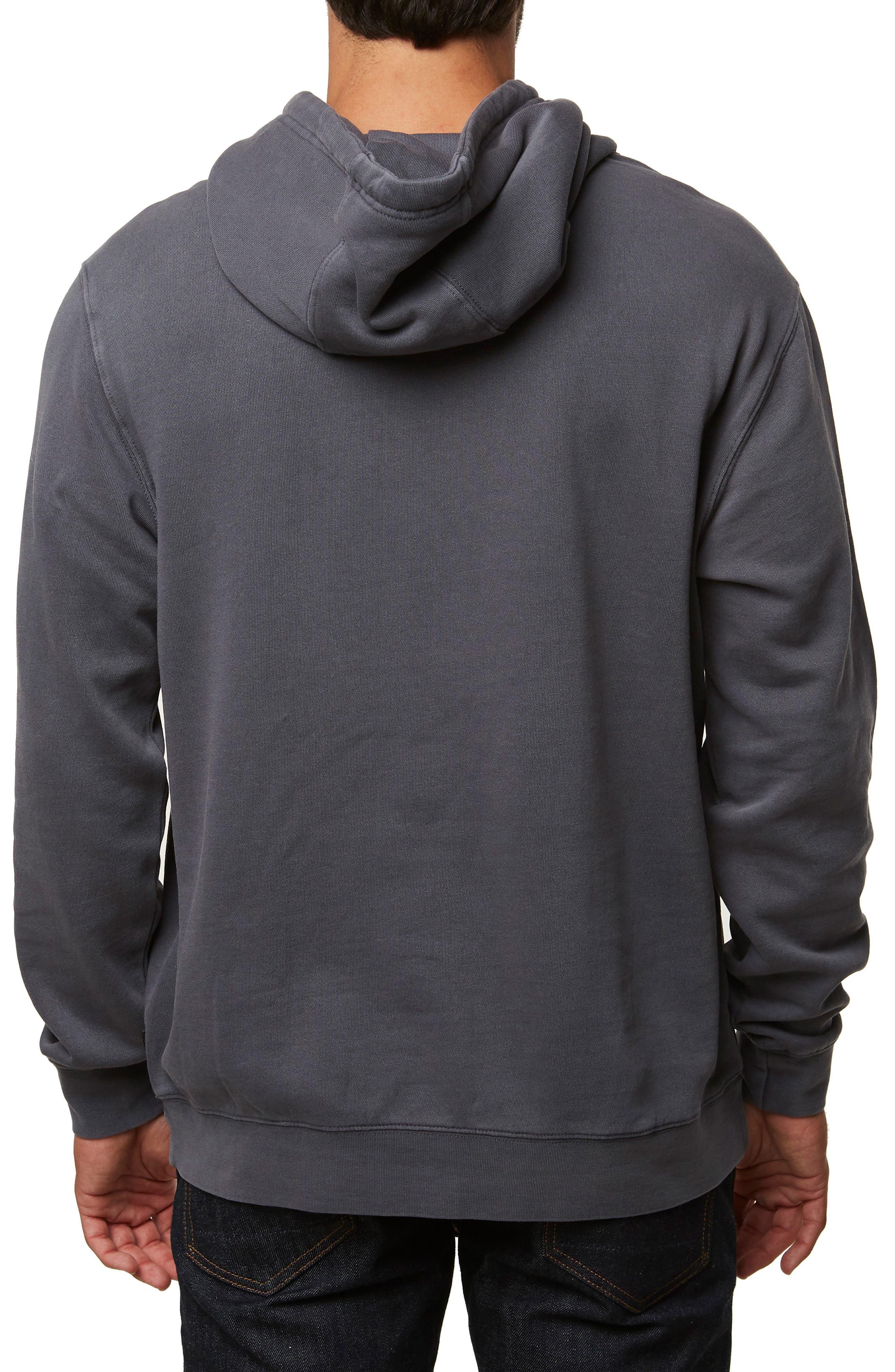 Nopales Hooded Sweatshirt,                             Alternate thumbnail 2, color,                             ASPHALT