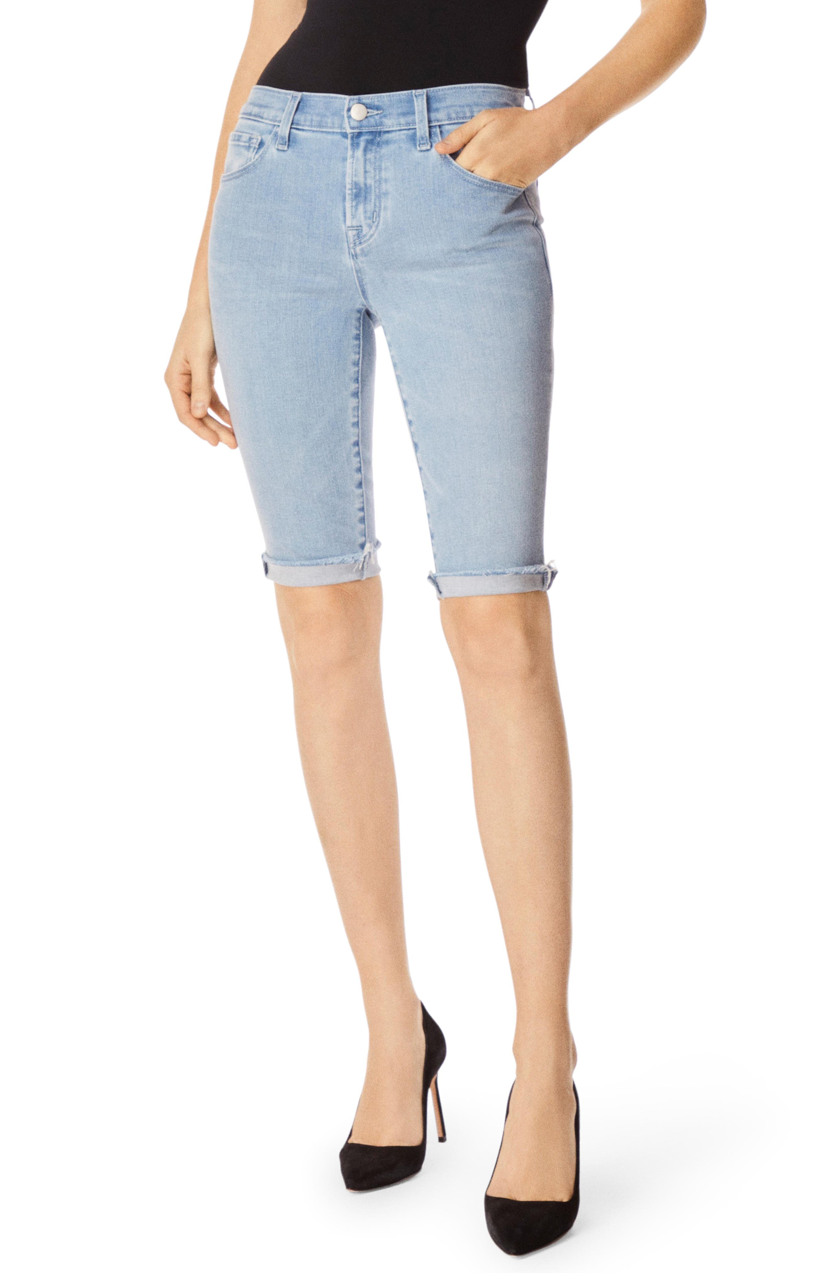 811 Skinny Bermuda Shorts, Main, color, VERITY