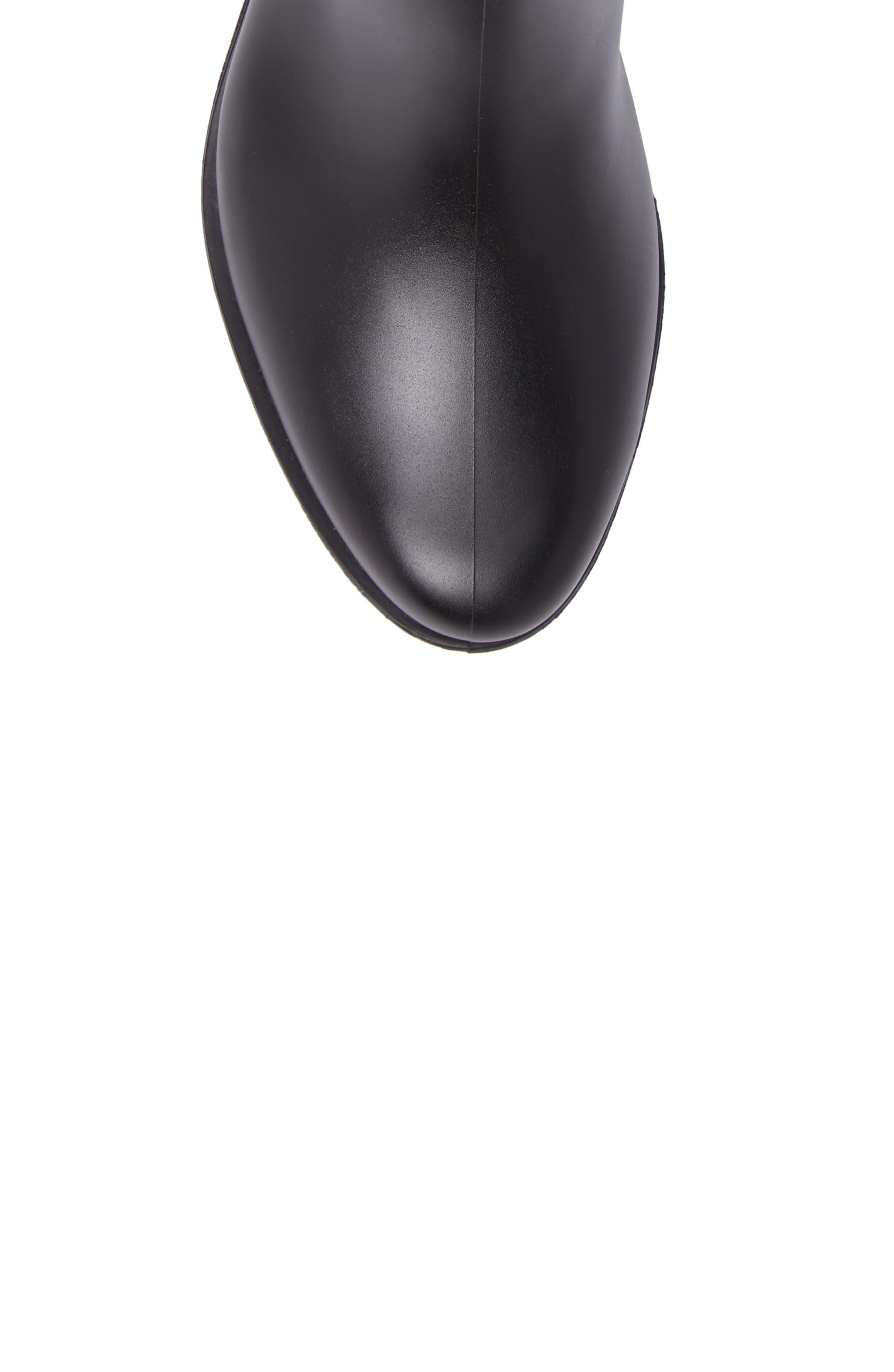 Dunkirk Water Resistant Boot,                             Alternate thumbnail 5, color,                             BLACK