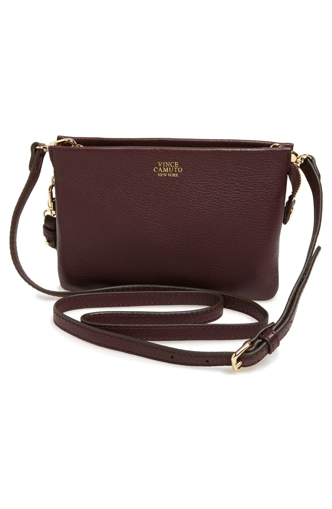 'Cami' Leather Crossbody Bag,                             Main thumbnail 10, color,