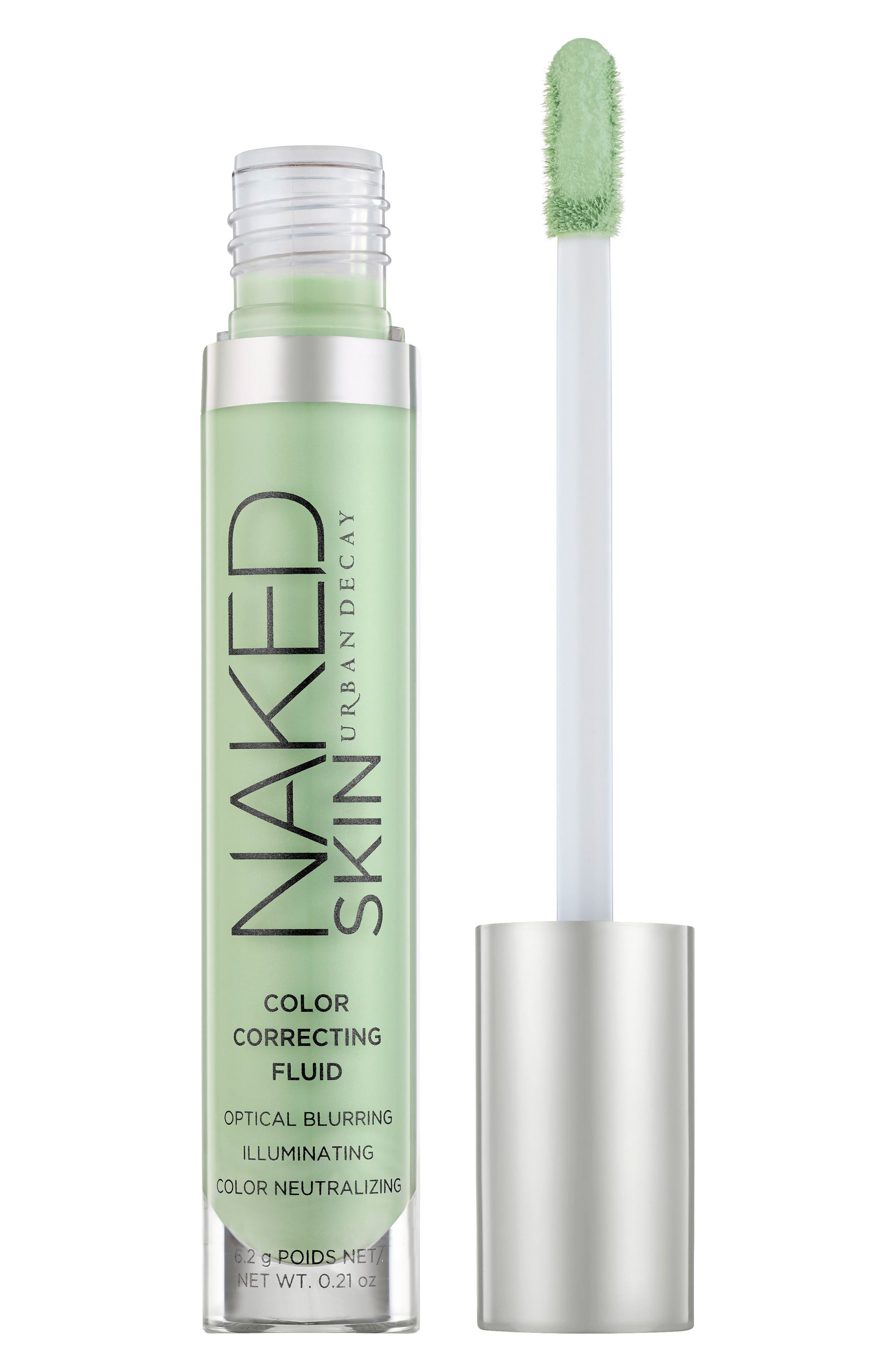 Naked Skin Color Correcting Fluid,                             Alternate thumbnail 2, color,                             GREEN