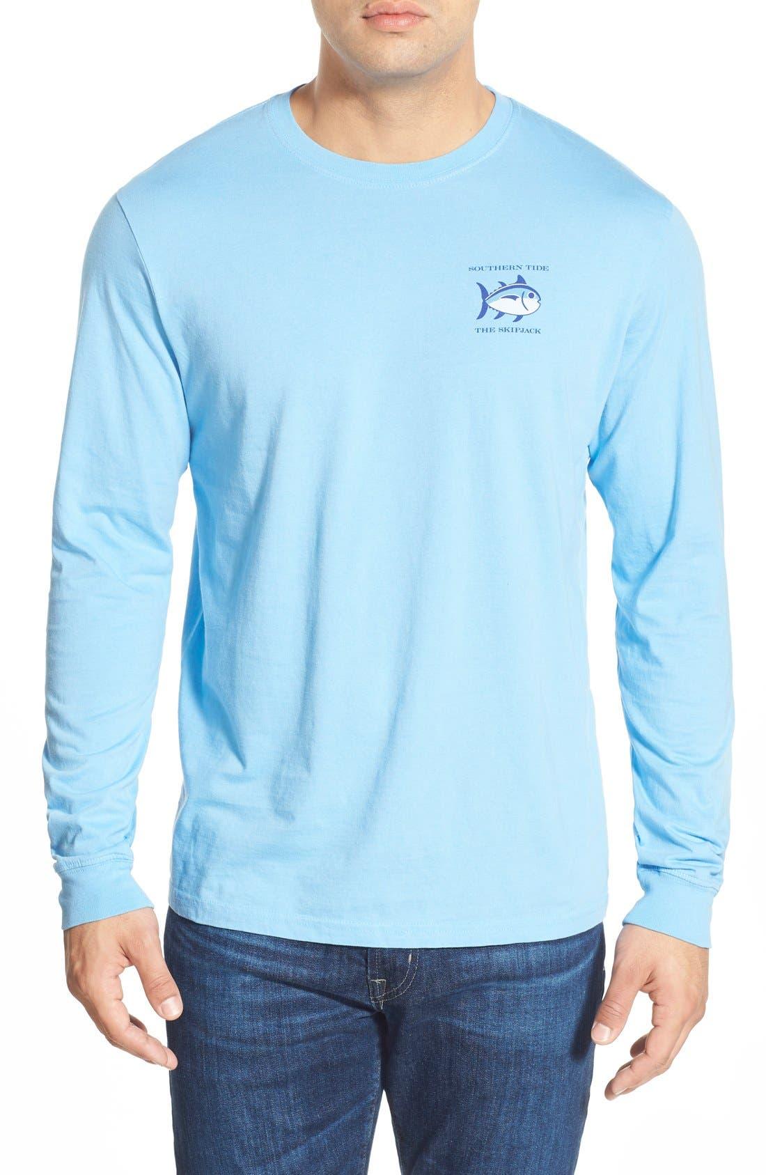 'Skipjack'Long Sleeve Graphic T-Shirt,                             Alternate thumbnail 52, color,