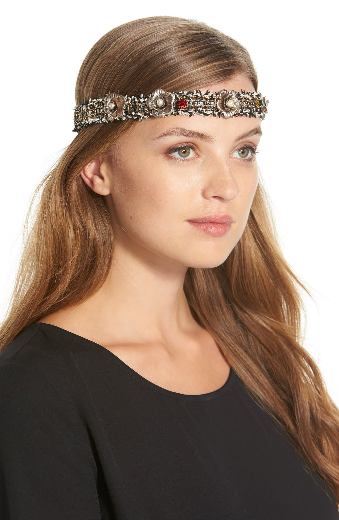 'Keeping It Classy' Head Wrap,                         Main,                         color,
