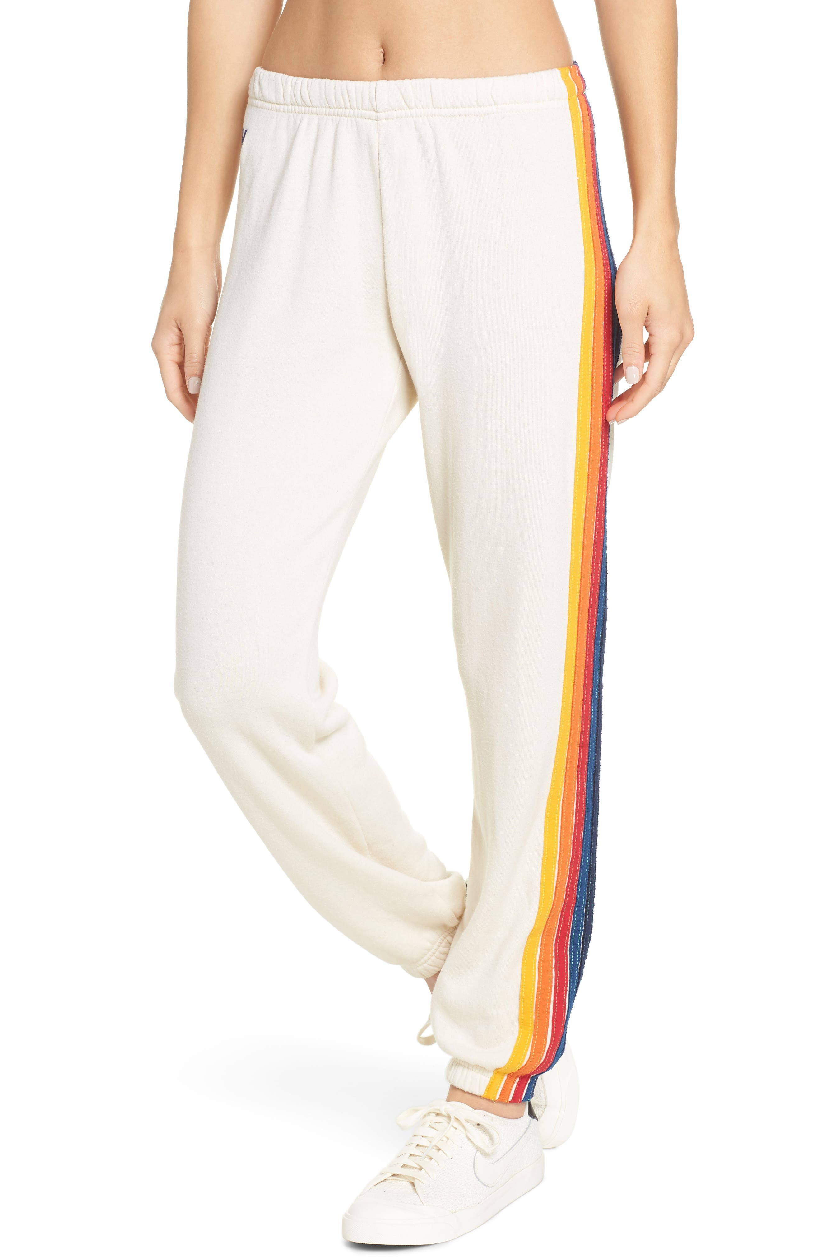 Women's Aviator Nation Stripe Sweatpants