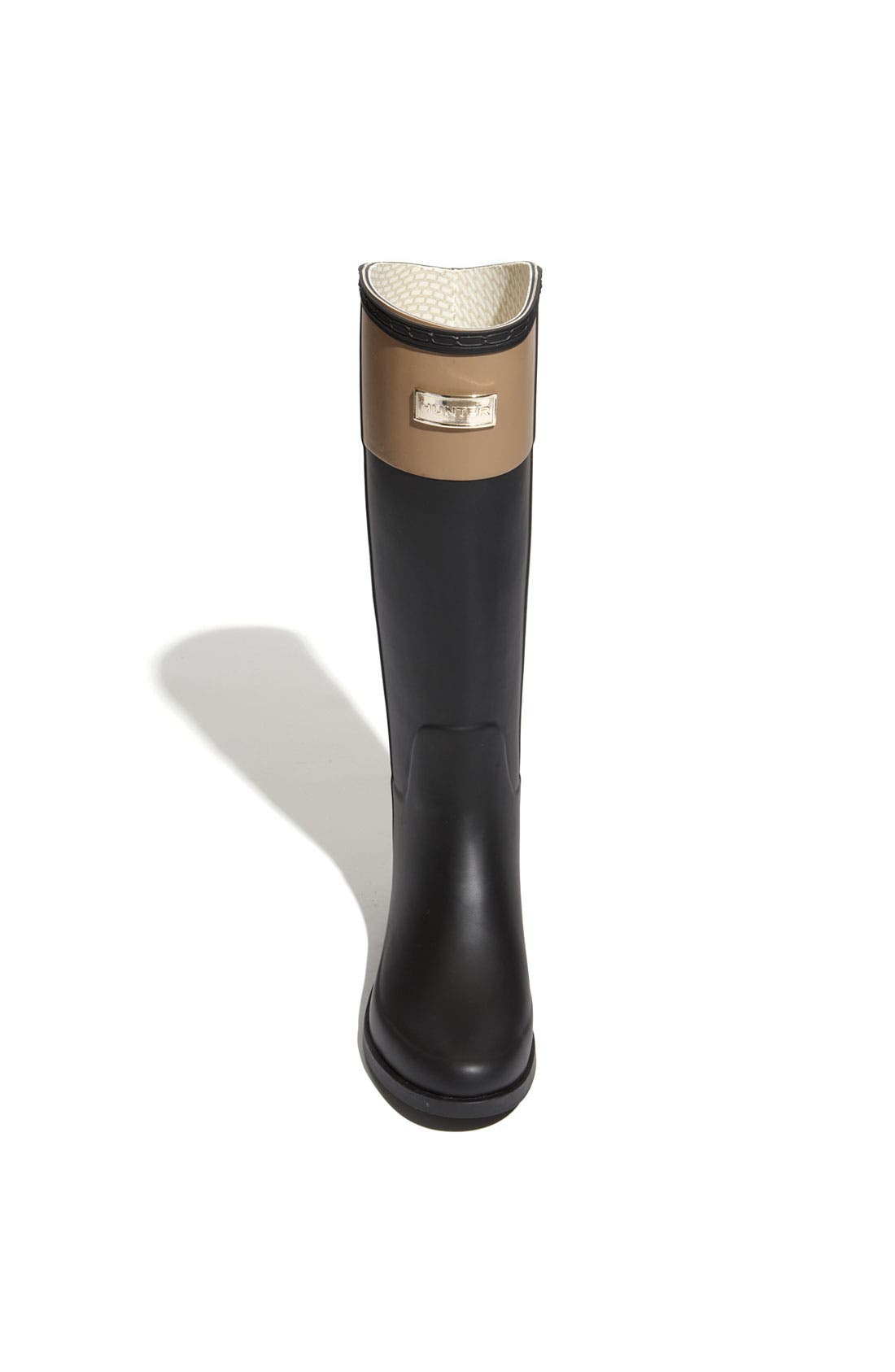'Cece' Rain Boot,                             Alternate thumbnail 4, color,                             001
