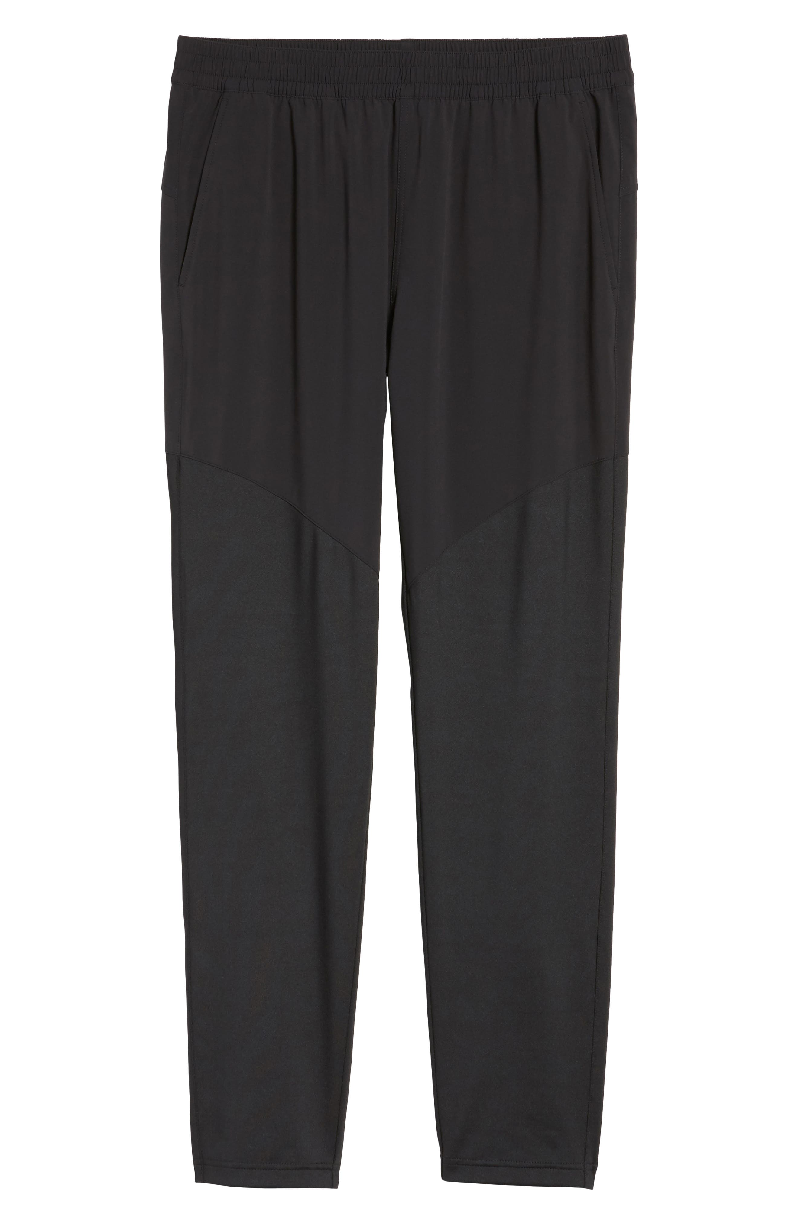 Graphite Tapered Athletic Pants,                             Alternate thumbnail 6, color,                             001