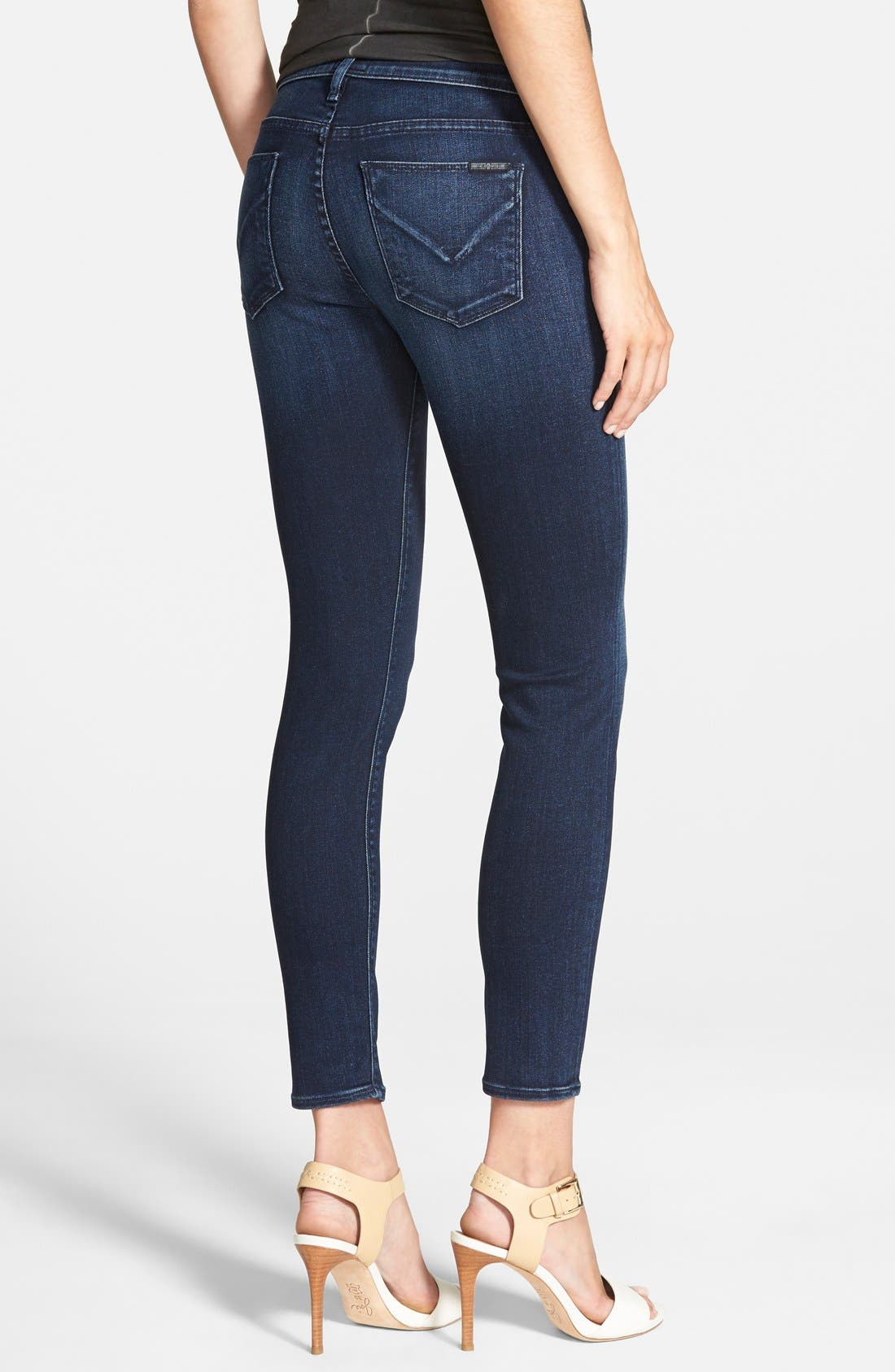'Nico' Ankle Skinny Jeans,                             Alternate thumbnail 19, color,