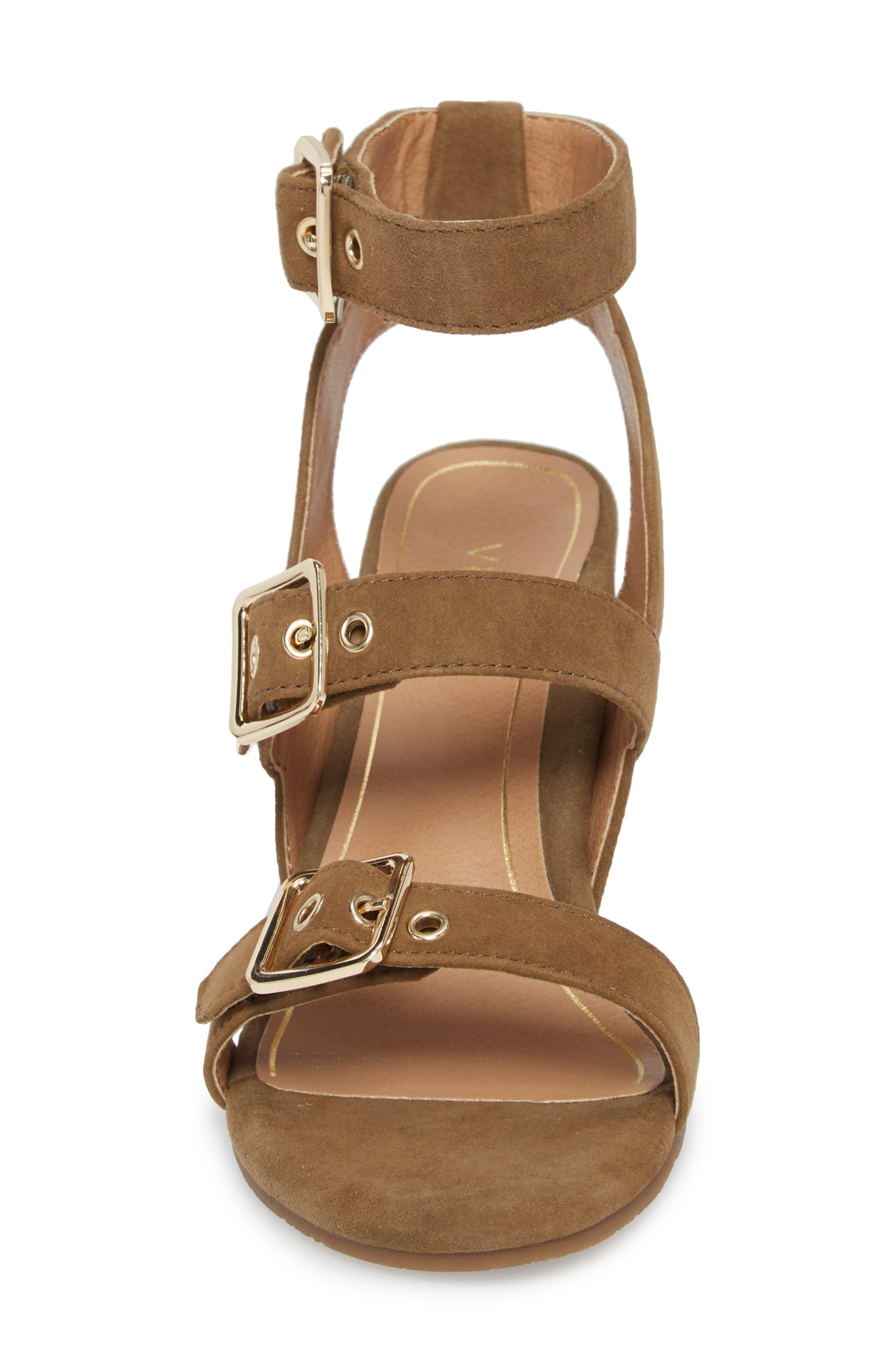 Carmel Block Heel Sandal,                             Alternate thumbnail 4, color,                             310