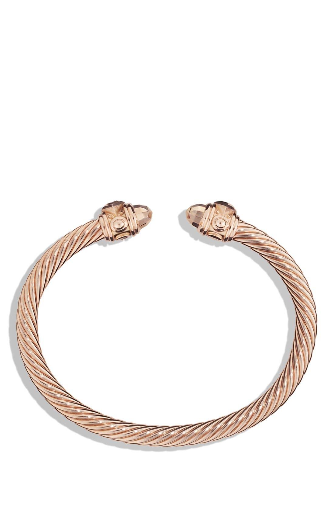 Renaissance Bracelet in 18K Rose Gold, 5mm,                             Alternate thumbnail 4, color,                             ROSE GOLD