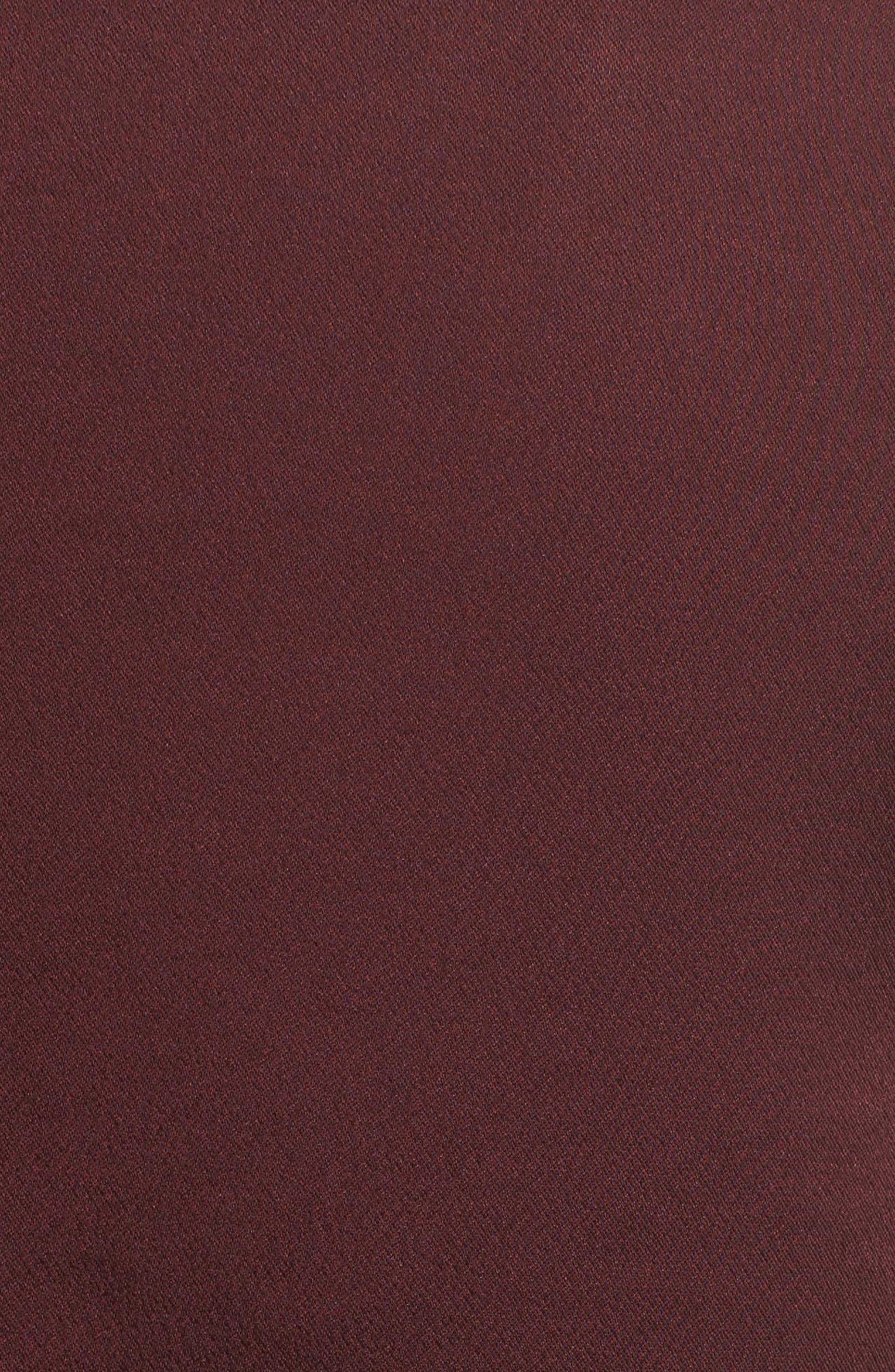 Heath Ruffle Hem Top,                             Alternate thumbnail 5, color,                             600