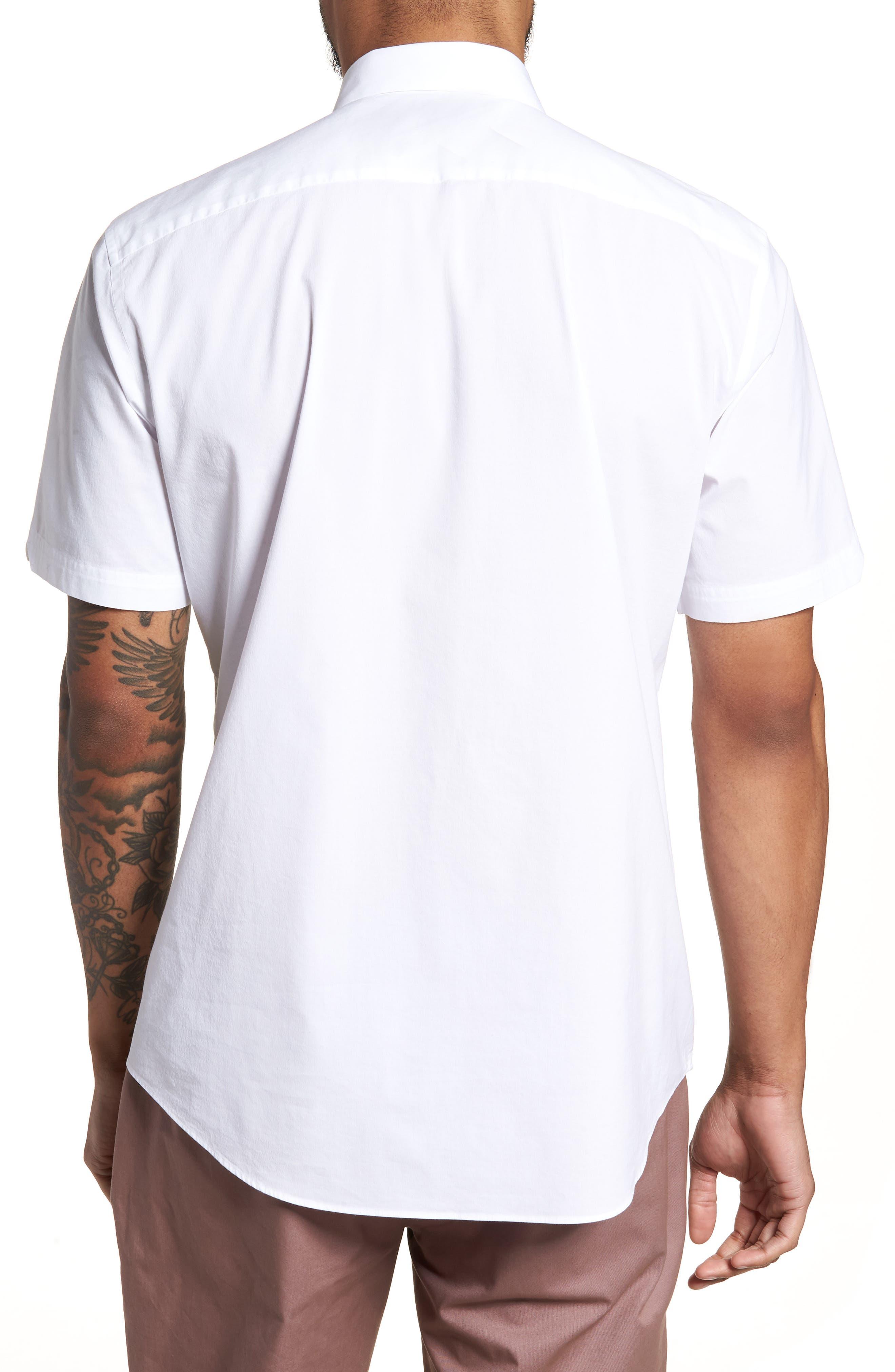 Baumann Slim Fit Sport Shirt,                             Alternate thumbnail 2, color,                             100
