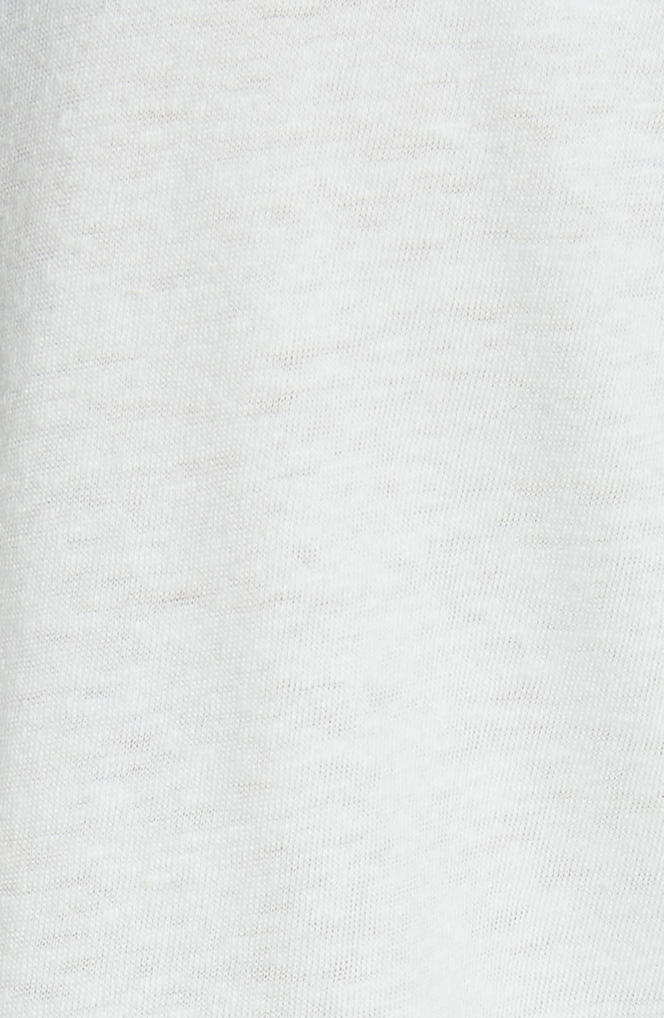 Flutter Sleeve Tee,                             Alternate thumbnail 9, color,