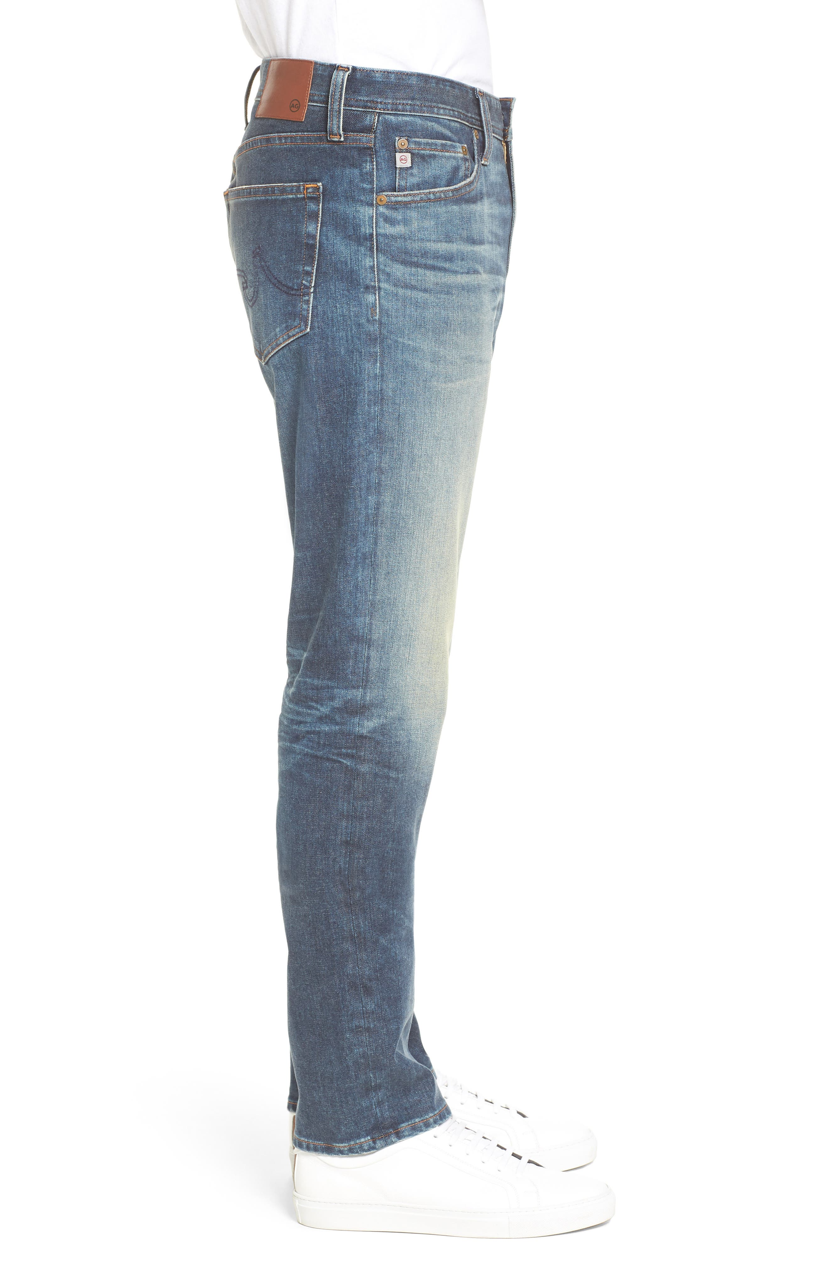 Everett Slim Straight Leg Jeans,                             Alternate thumbnail 3, color,