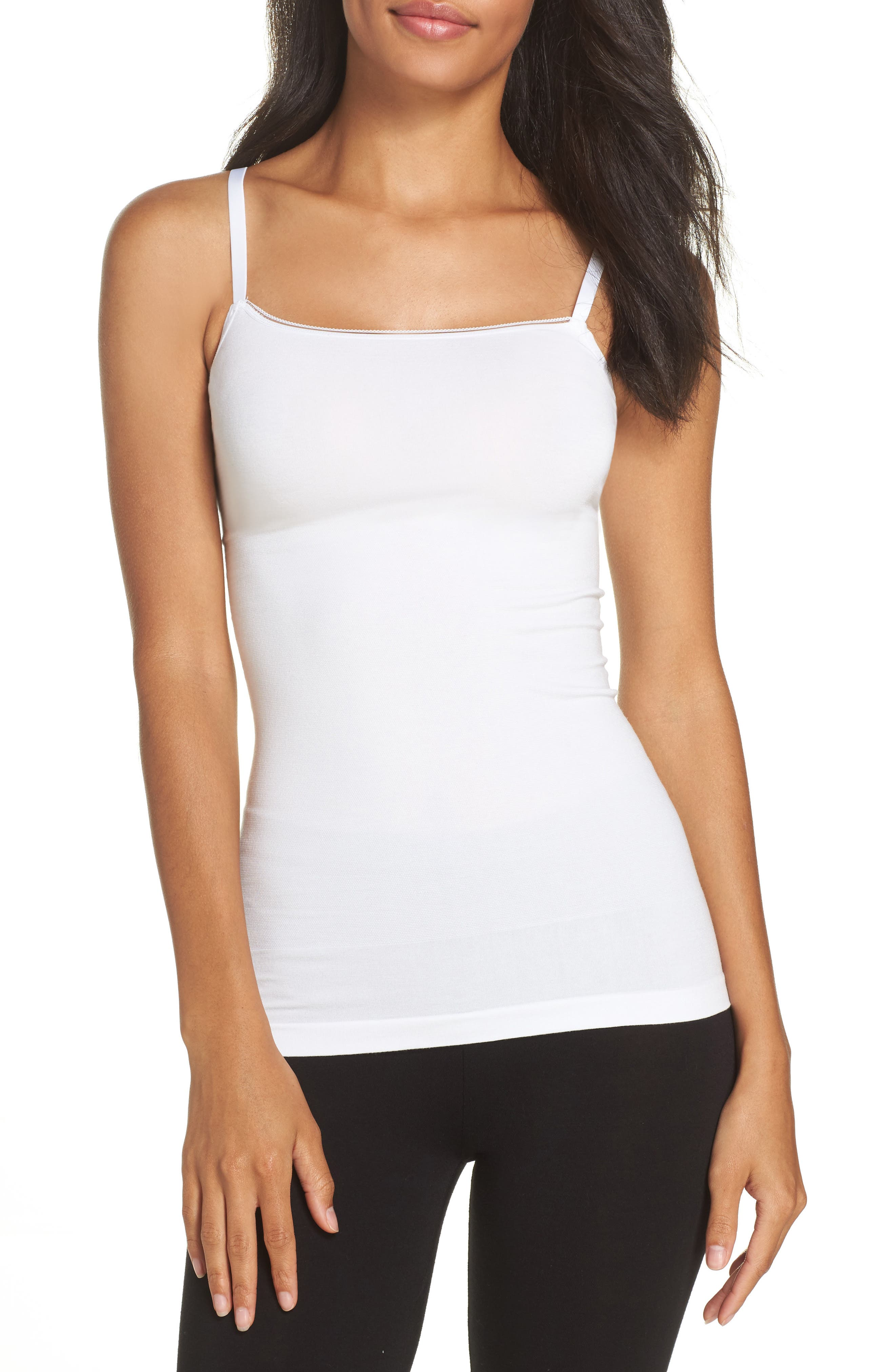 Yummie Seamlessly Shaped Convertible Camisole, White