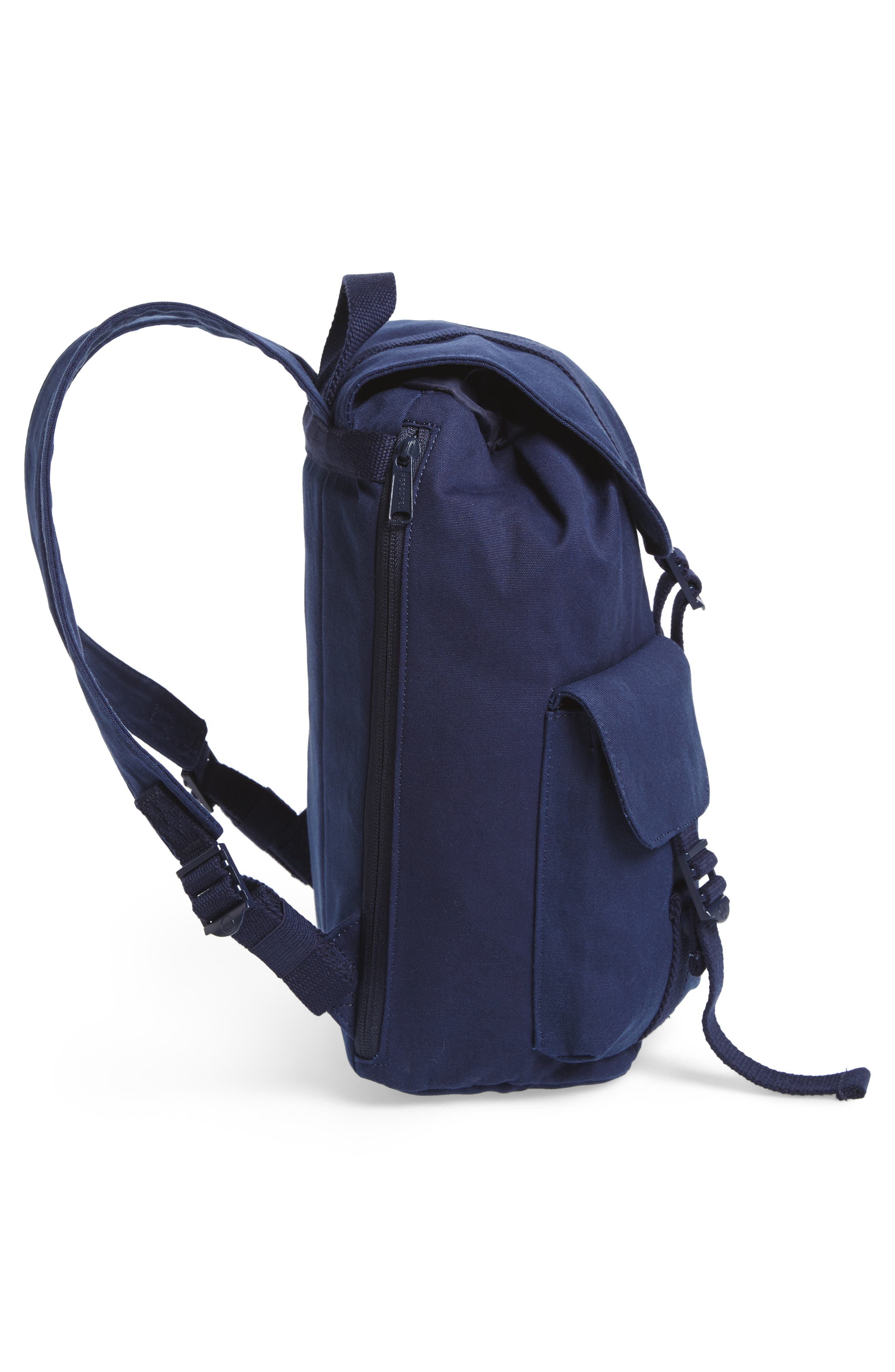 X-Small Dawson Canvas Backpack,                             Alternate thumbnail 5, color,                             PEACOAT