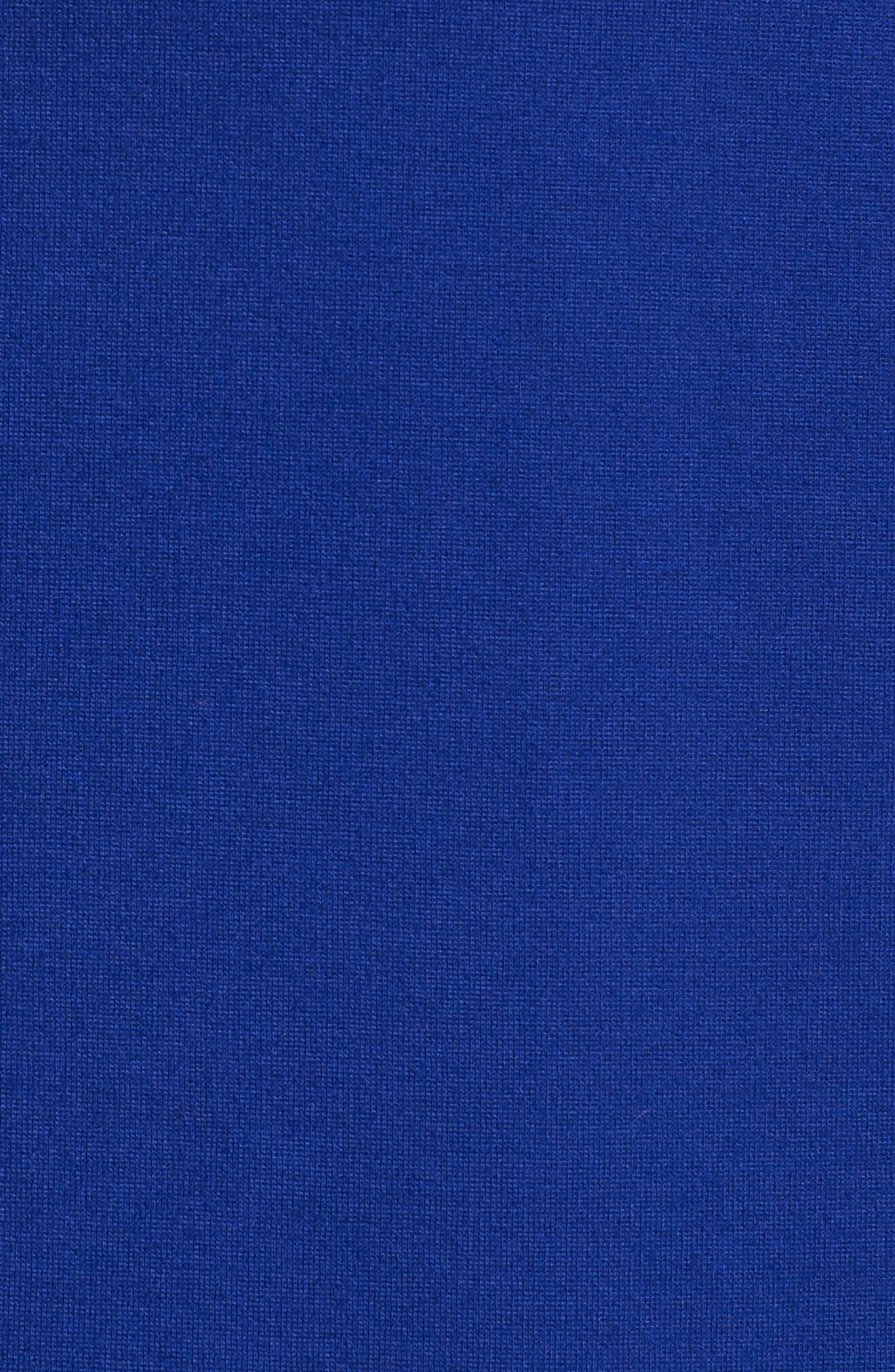 Nessa Ponte Midi Dress,                             Alternate thumbnail 5, color,