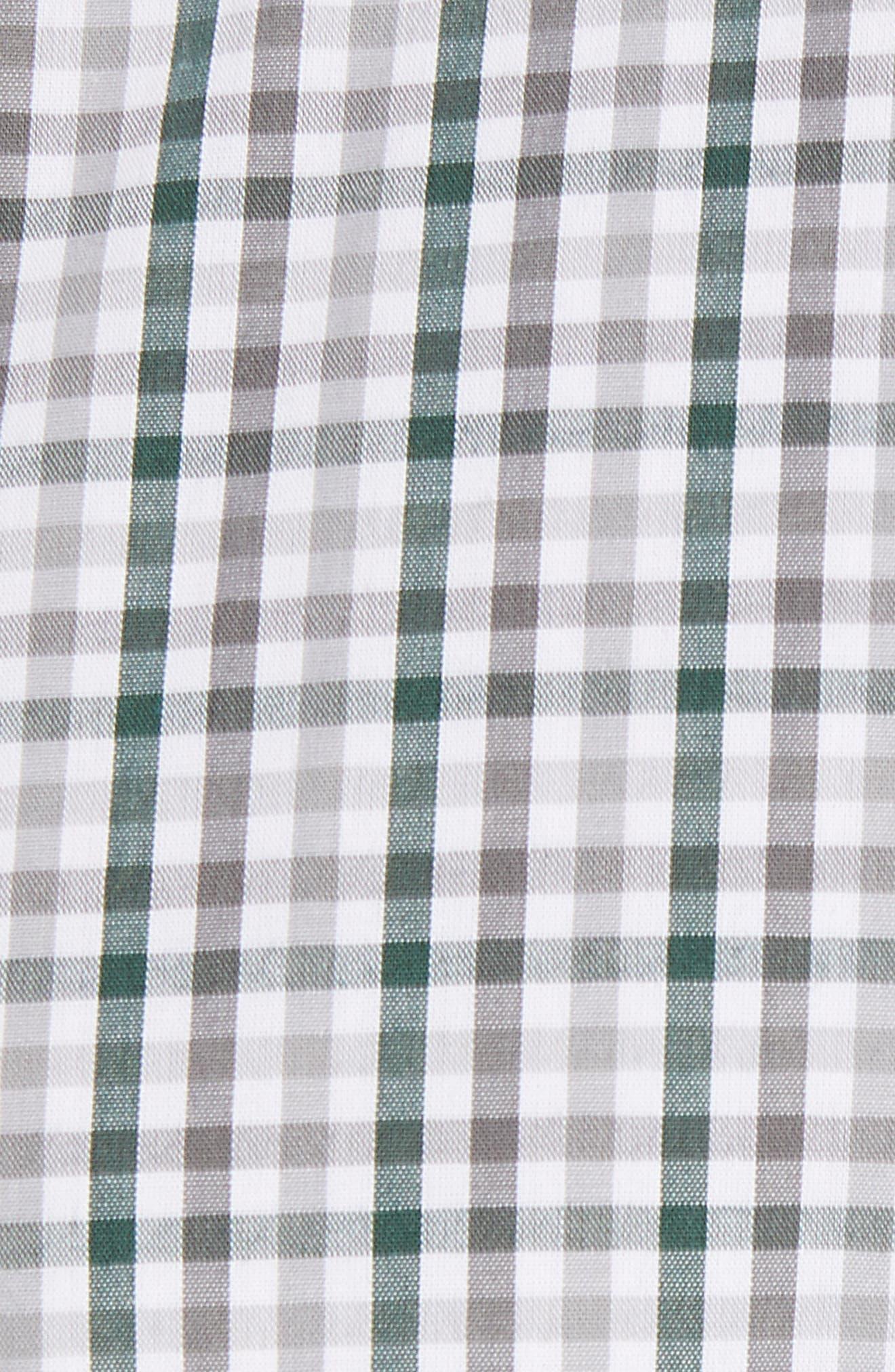 Philadelphia Eagles - Gilman Regular Fit Plaid Sport Shirt,                             Alternate thumbnail 5, color,                             HUNTER