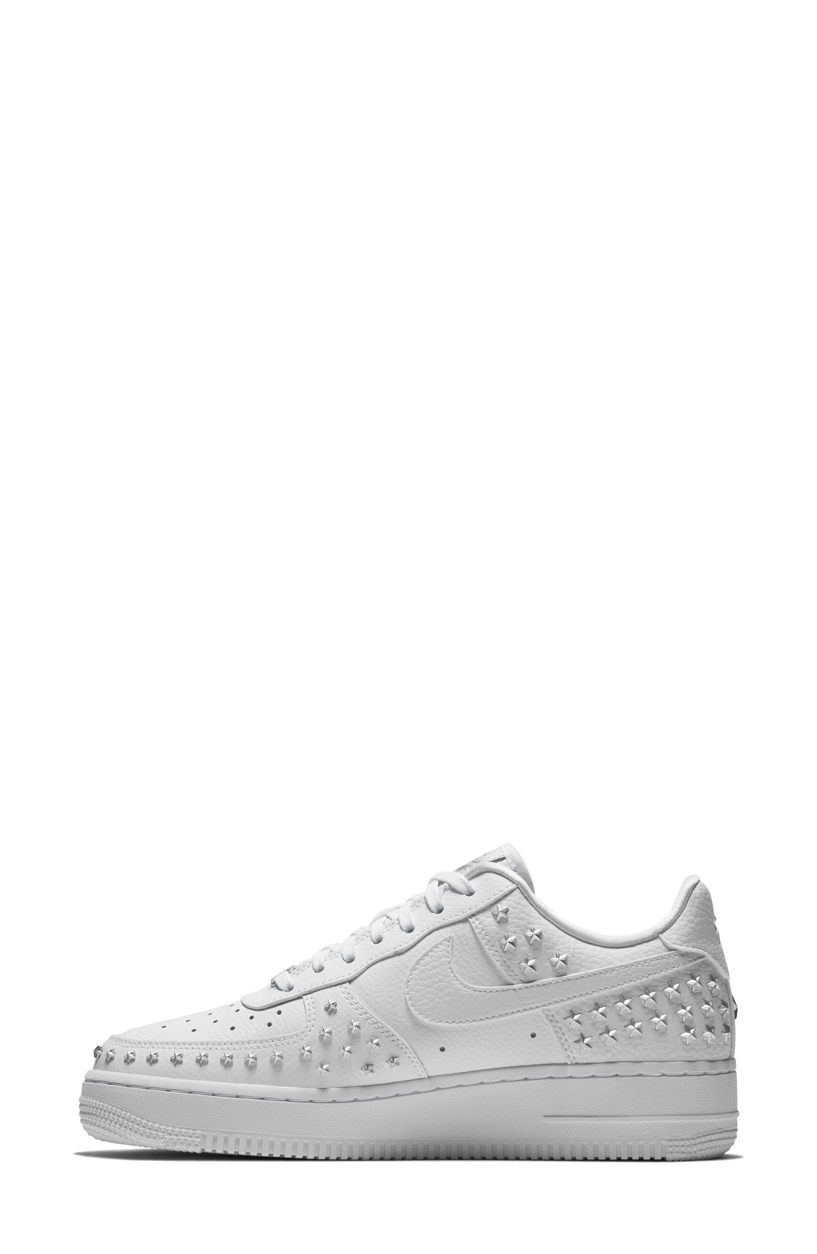 Air Force 1 '07 XX Sneaker,                             Alternate thumbnail 3, color,                             WHITE/ WHITE/ WHITE