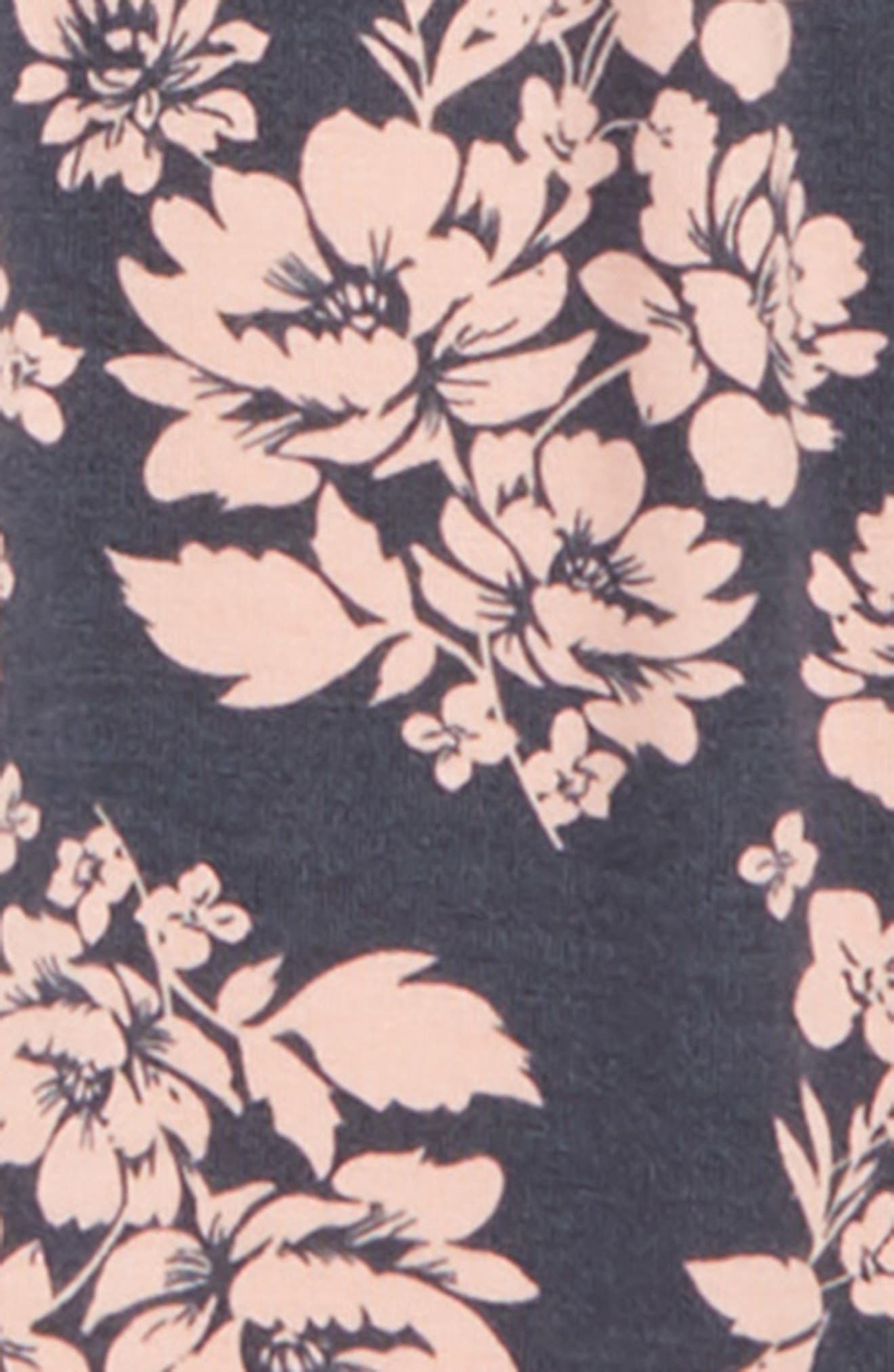 Tunic & Floral Leggings Set,                             Alternate thumbnail 2, color,                             650