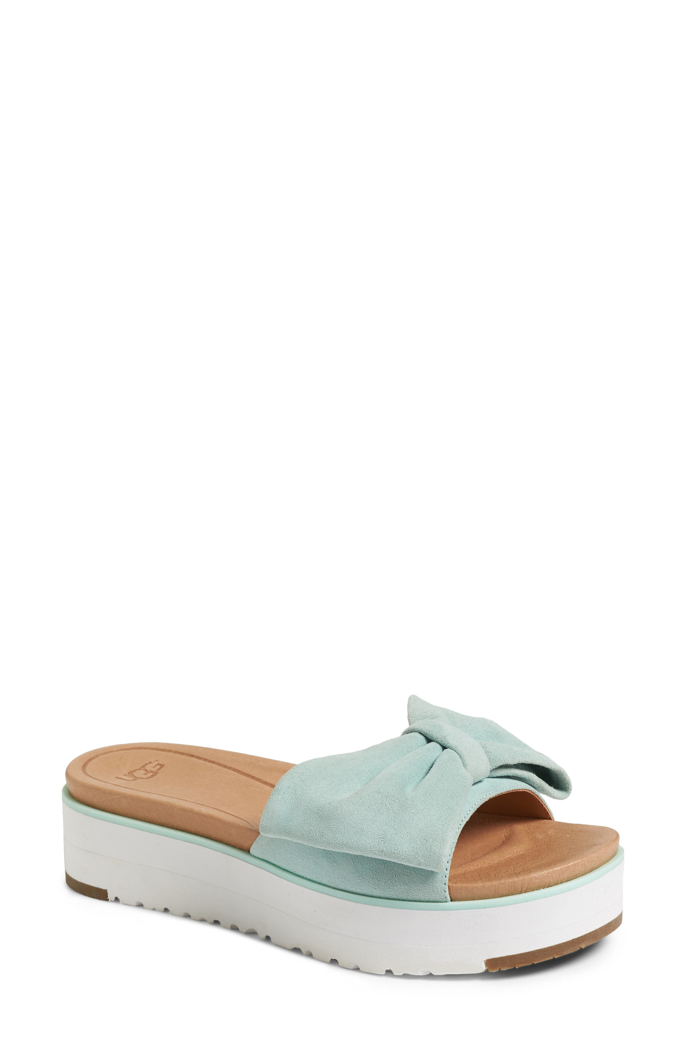 UGG<SUP>®</SUP> Joan Platform Sandal, Main, color, 450