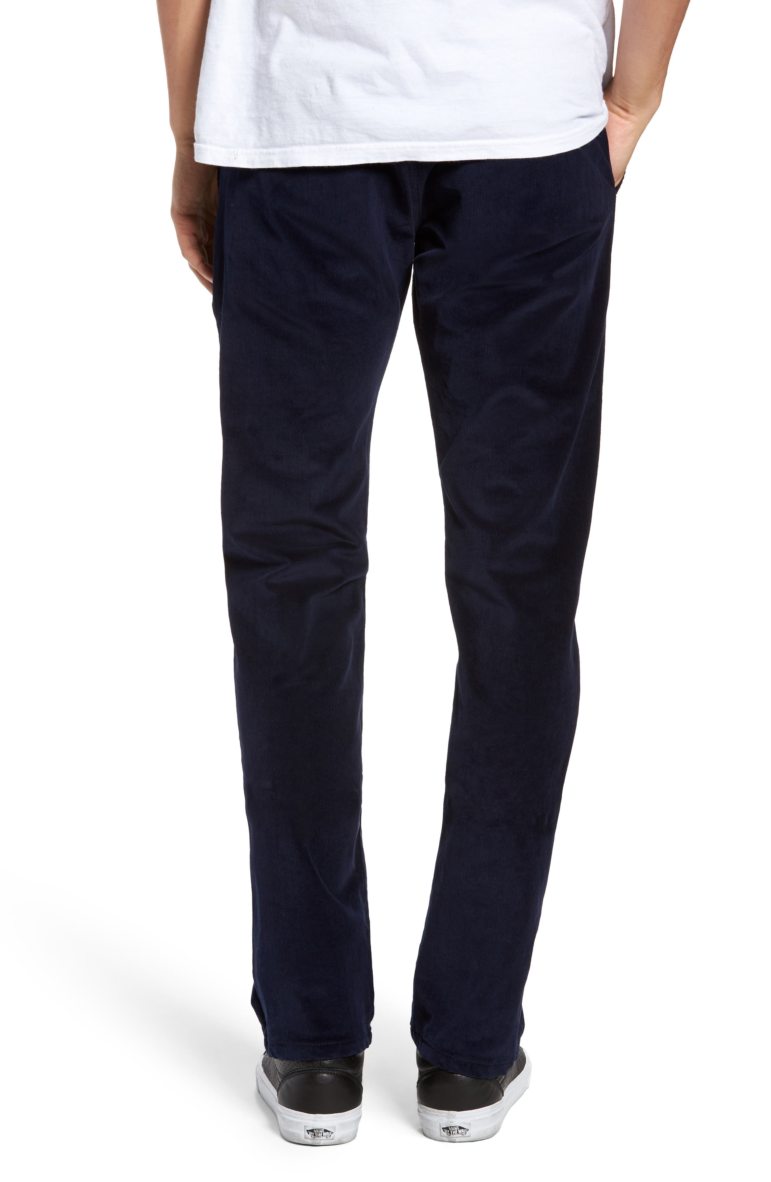 Slim Fit Corduroy Pants,                             Alternate thumbnail 2, color,