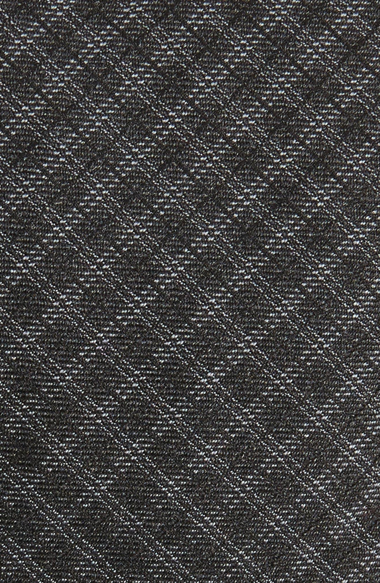 Tonal Check Silk Skinny Tie,                             Alternate thumbnail 3, color,