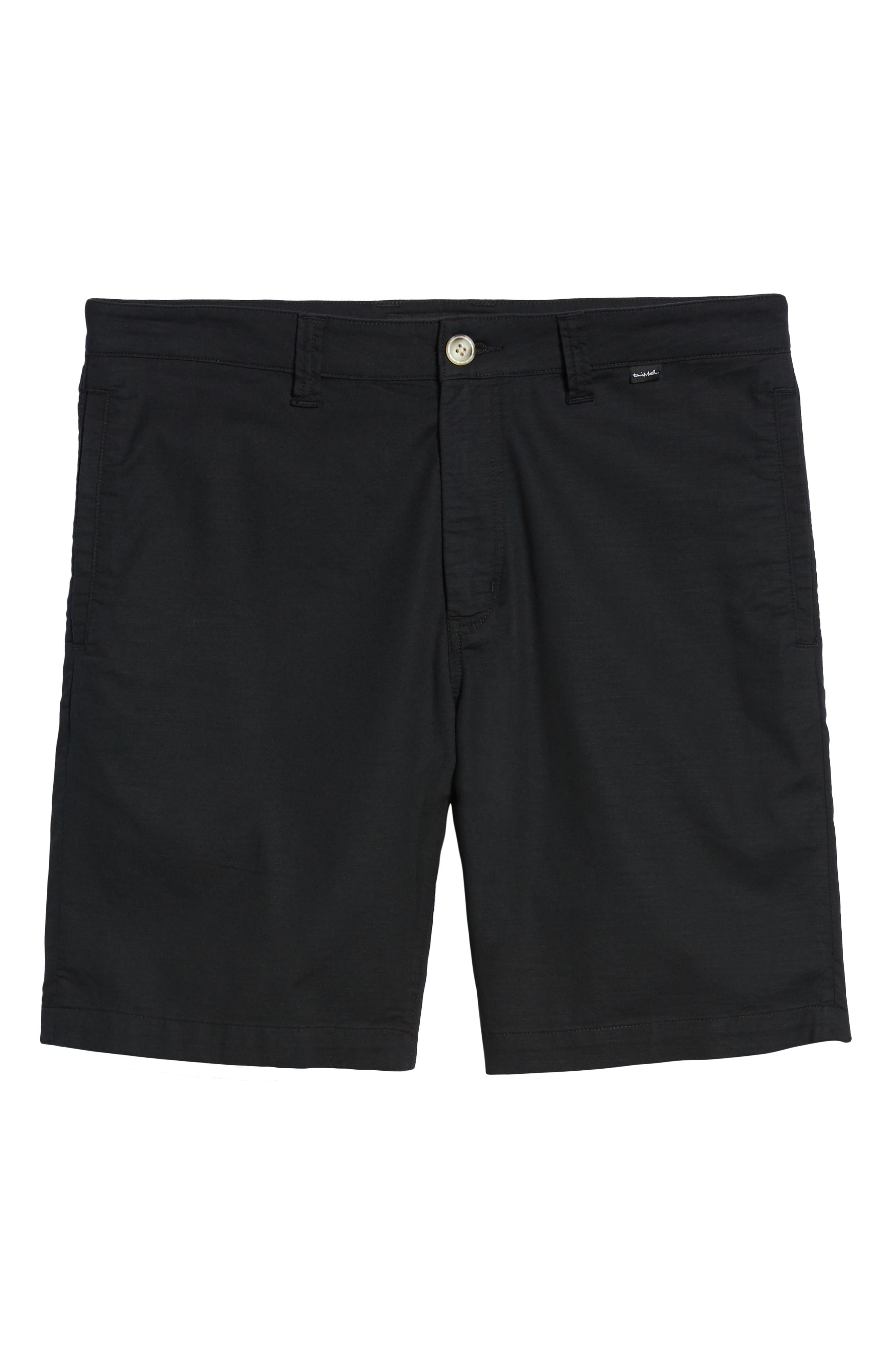 Swearengen Shorts,                             Alternate thumbnail 6, color,                             BLACK