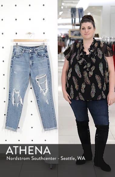 The Rivington Ripped Straight Leg Jeans, sales video thumbnail