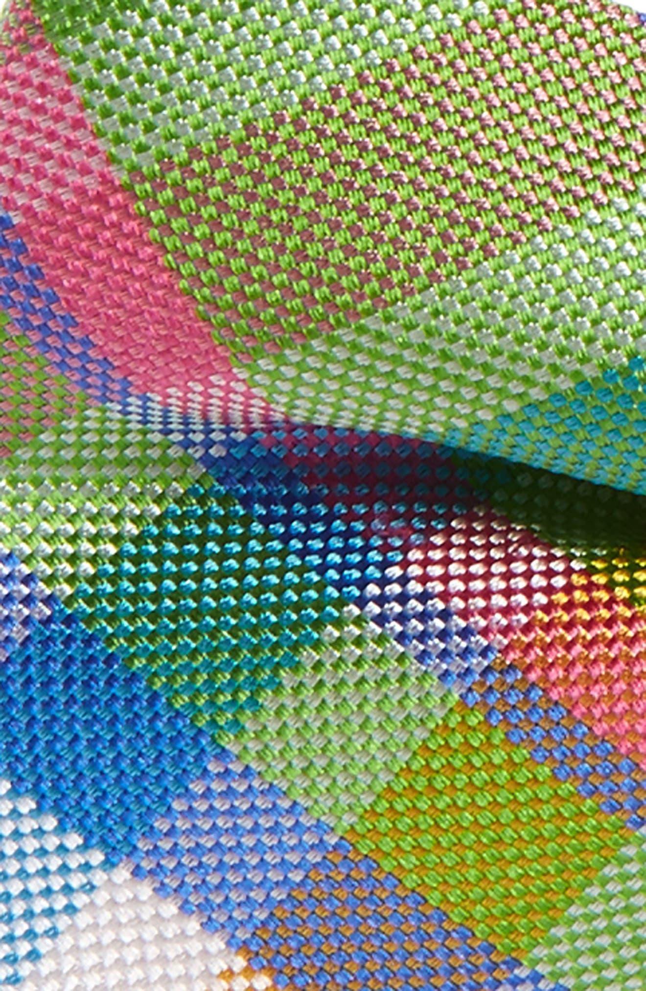 Plaid Silk Bow Tie,                             Alternate thumbnail 2, color,                             300