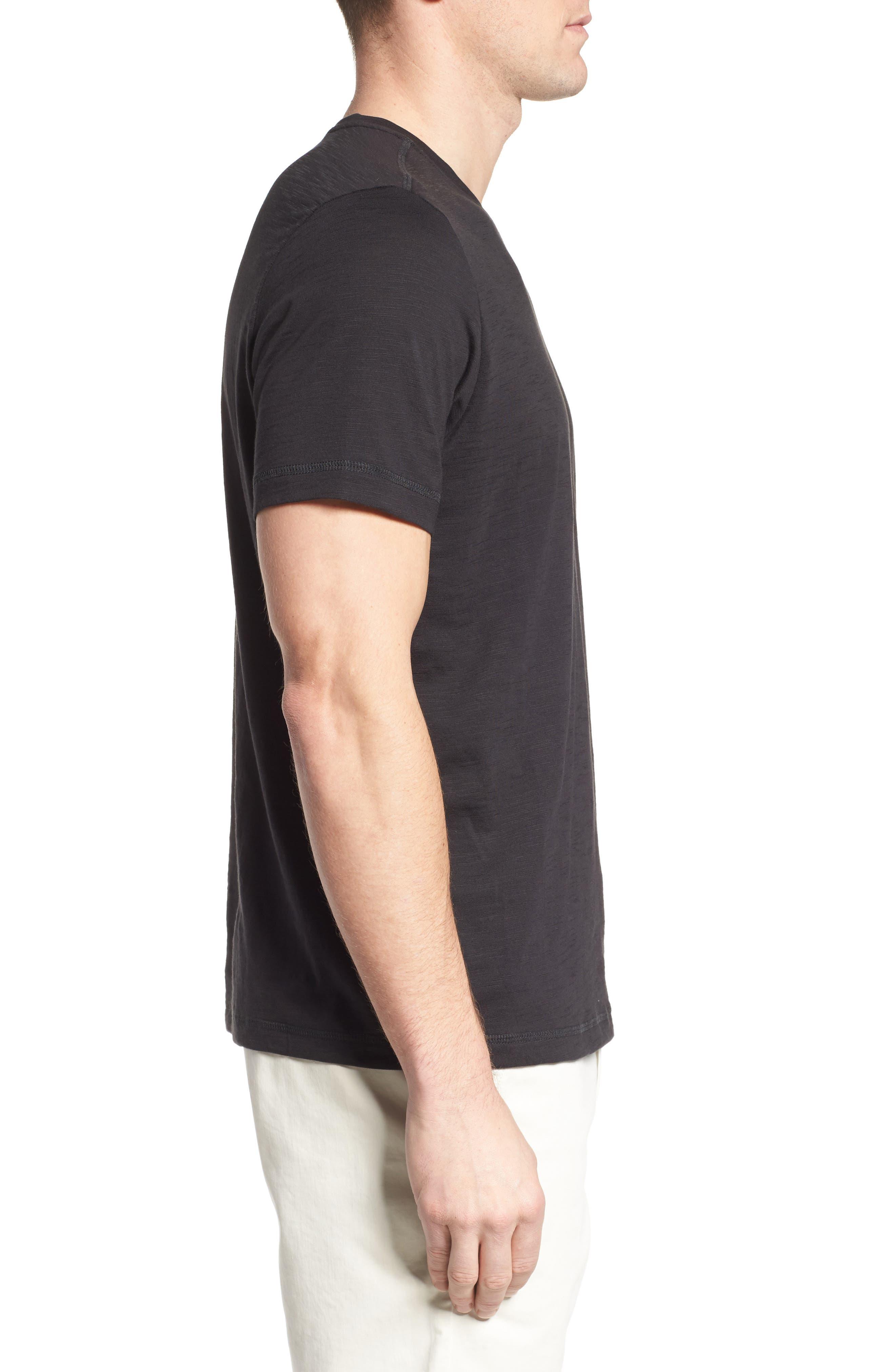 Portside Palms V-Neck T-Shirt,                             Alternate thumbnail 19, color,