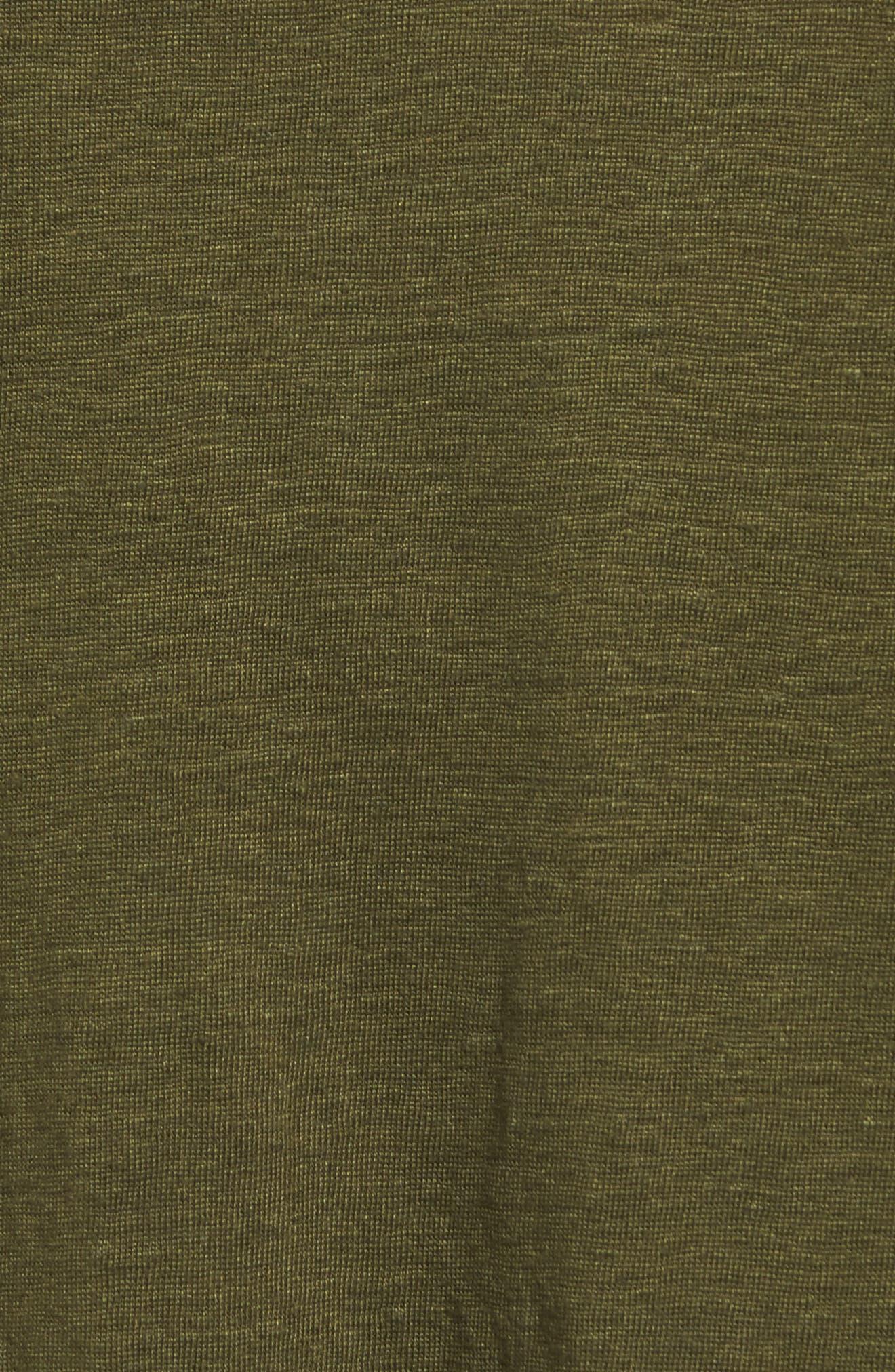 Bateau Neck Organic Linen Tunic,                             Alternate thumbnail 67, color,