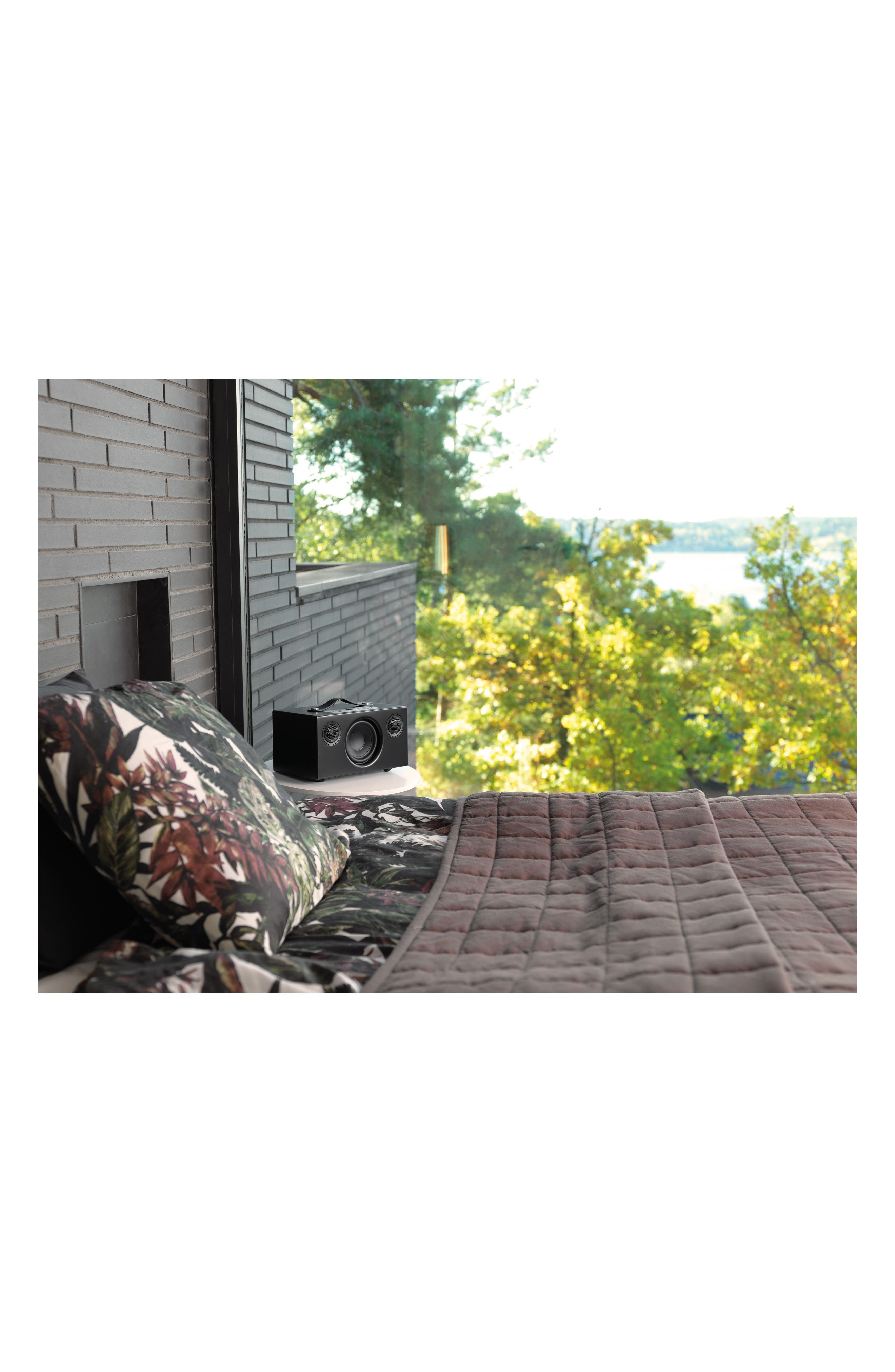 Addon C5 Wi-Fi Multi Room Bluetooth<sup>®</sup> Speaker,                             Alternate thumbnail 5, color,                             COAL BLACK