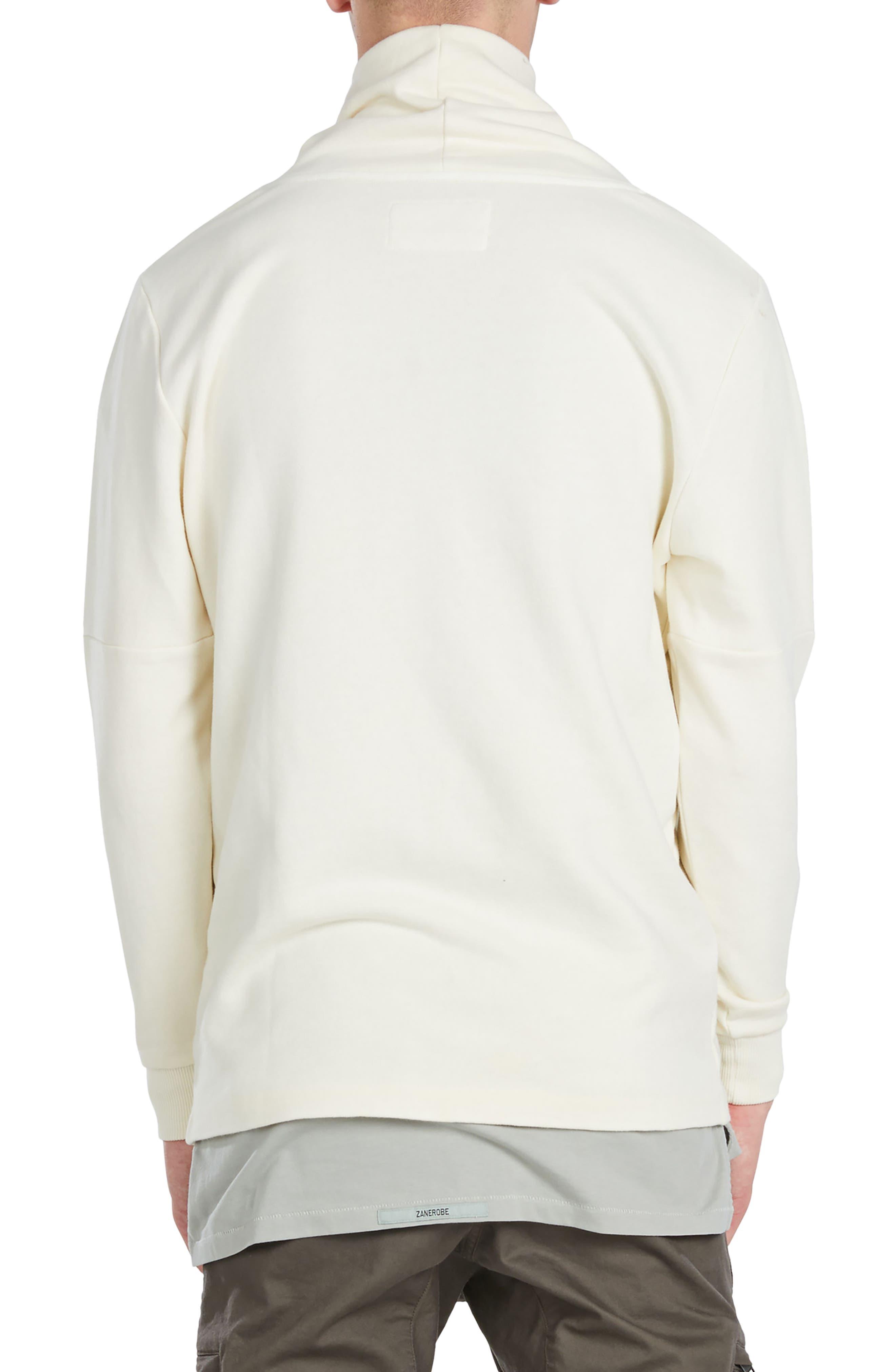 Mock Neck Sweatshirt,                             Alternate thumbnail 4, color,