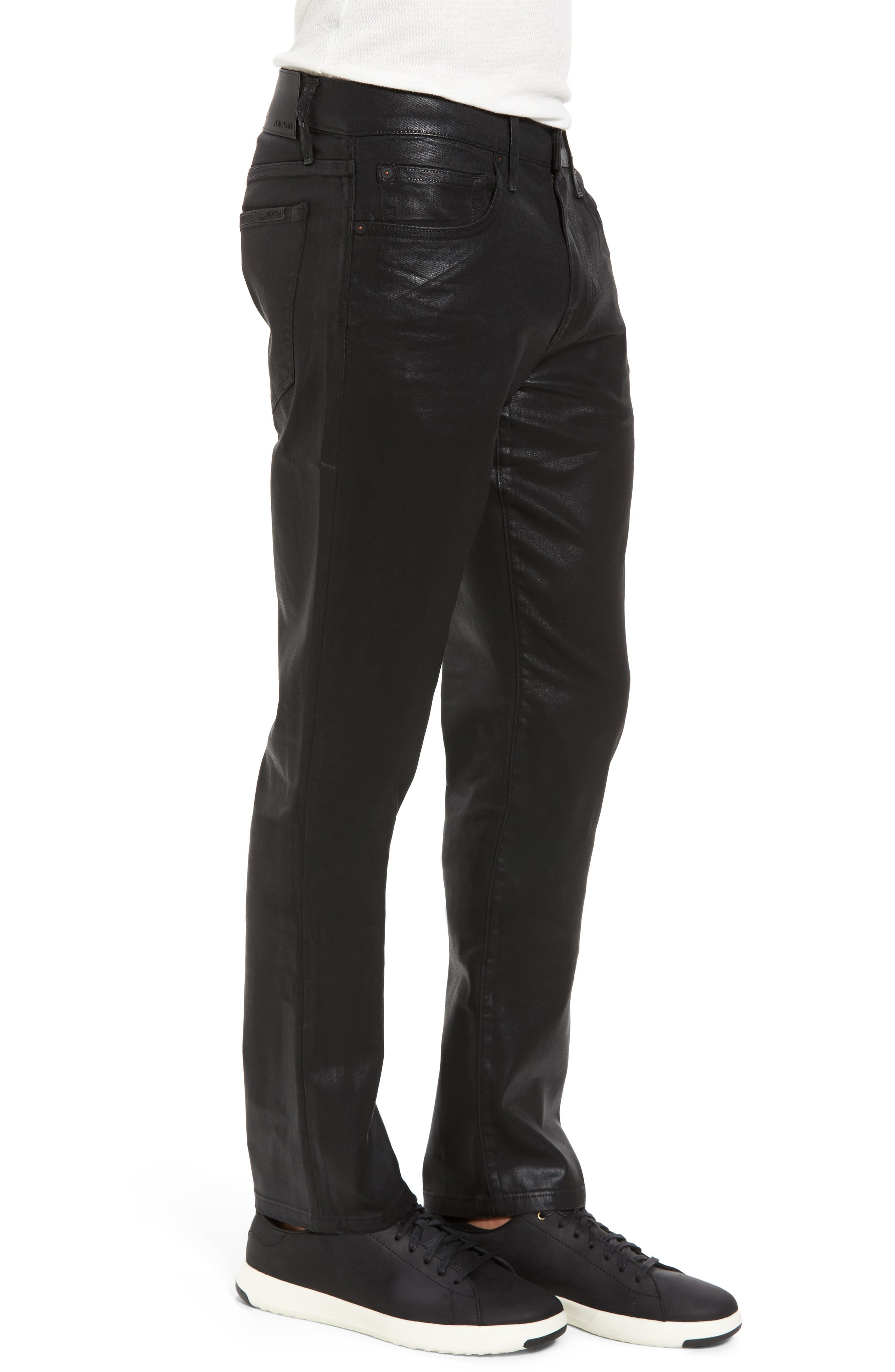 Coated Slim Fit Jeans,                             Alternate thumbnail 3, color,