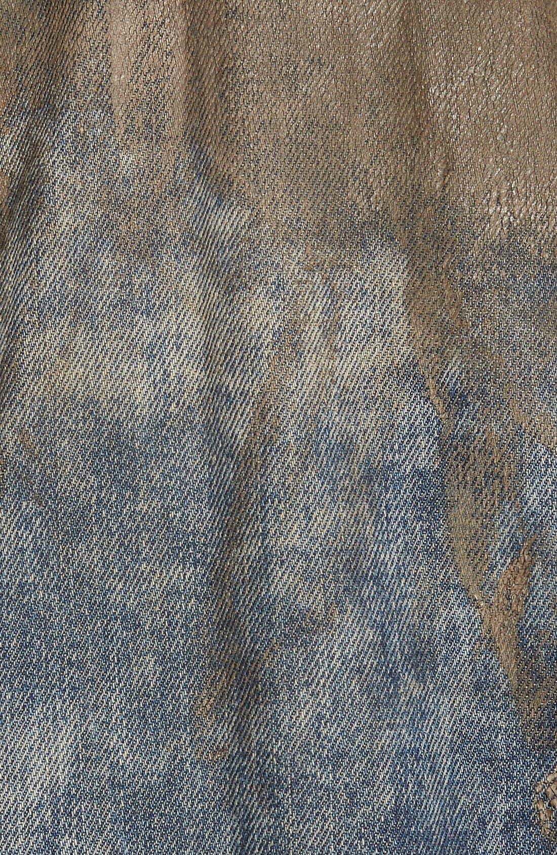 Mud Denim Jacket,                             Alternate thumbnail 4, color,                             490