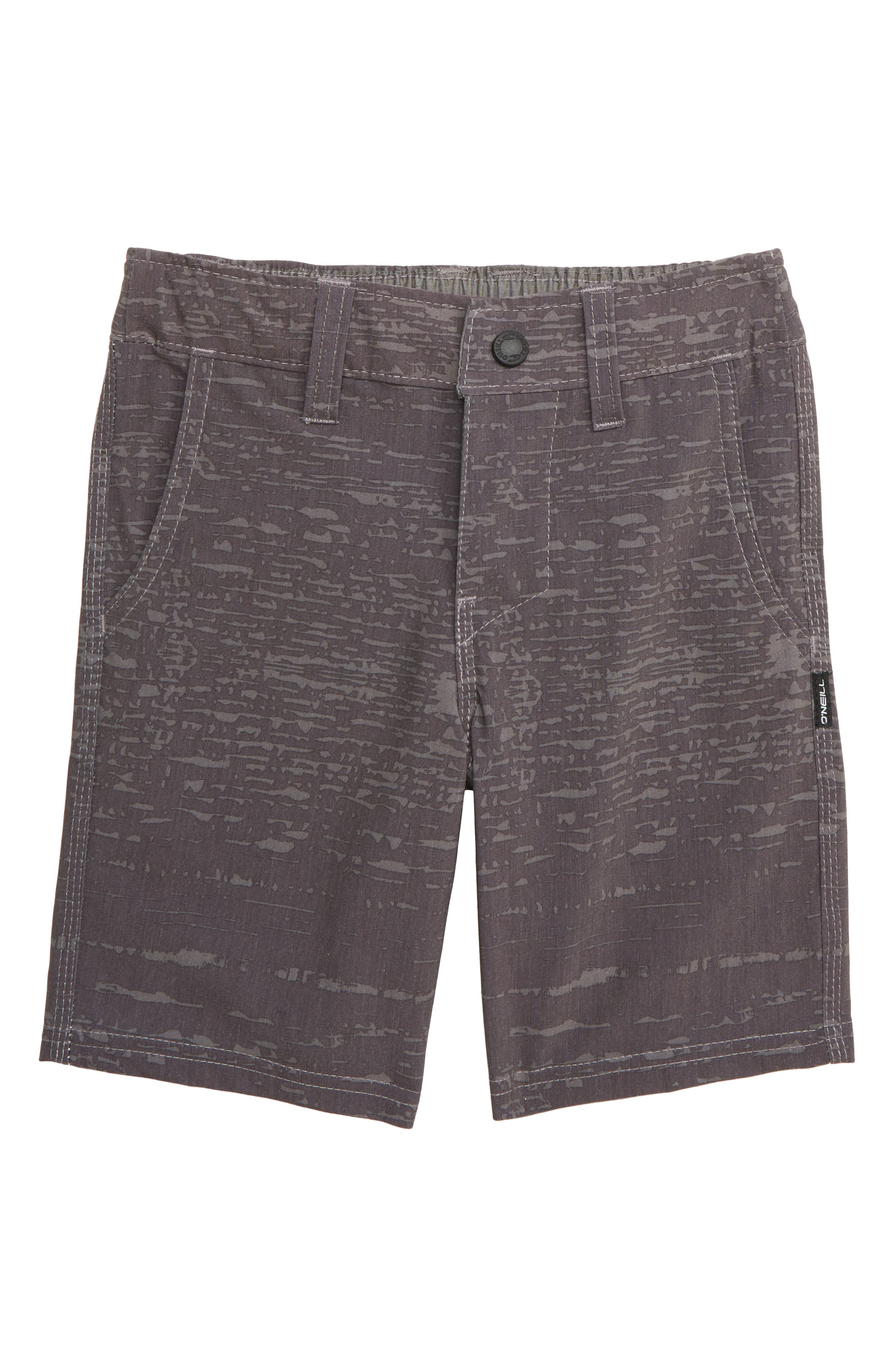 O'NEILL Collective Hybrid Shorts, Main, color, BLACK
