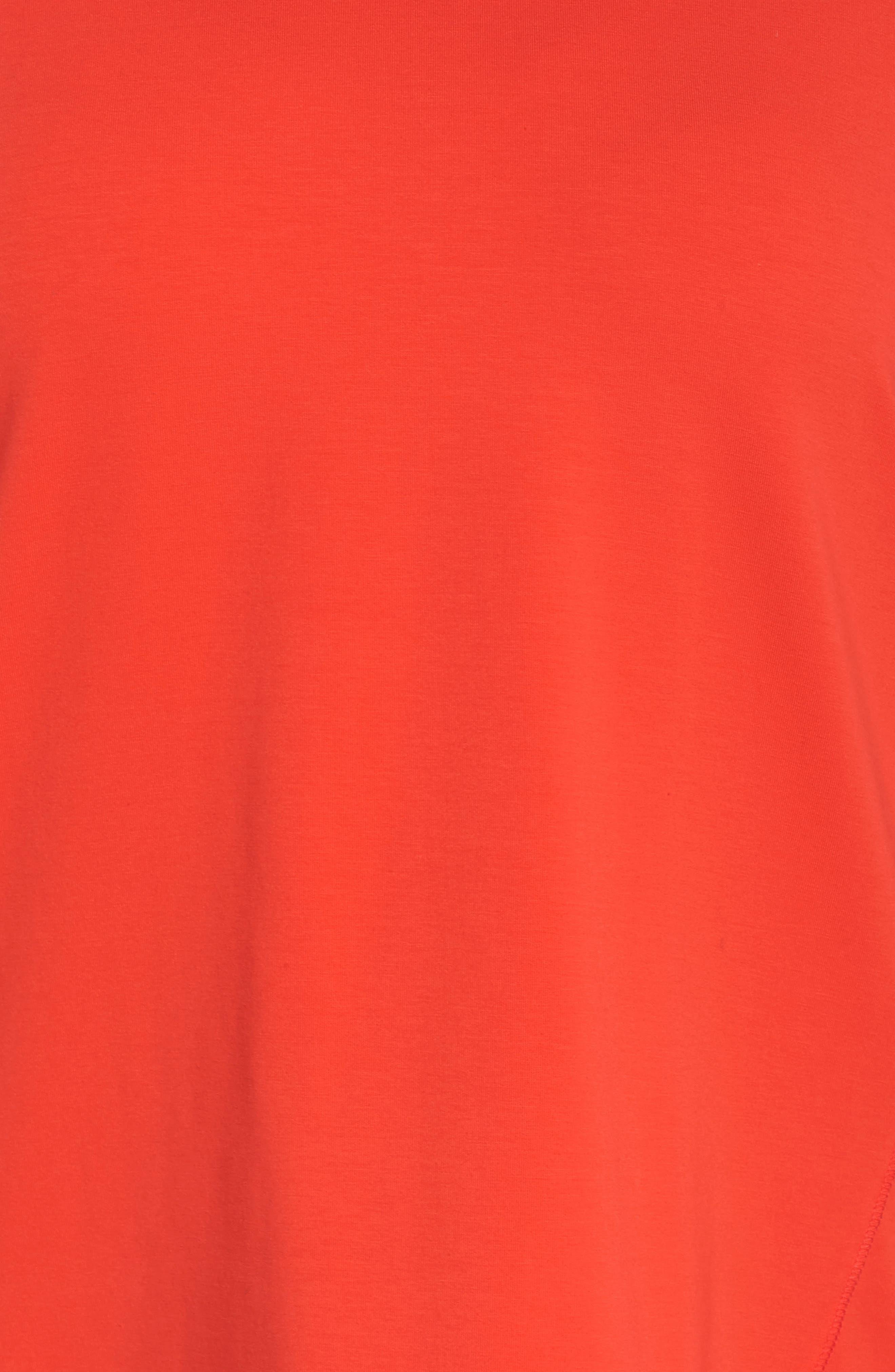 Organic Jersey Side Zip Top,                             Alternate thumbnail 16, color,