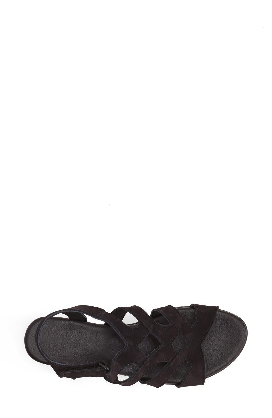'Obela' Water Resistant Leather Sandal,                             Alternate thumbnail 14, color,