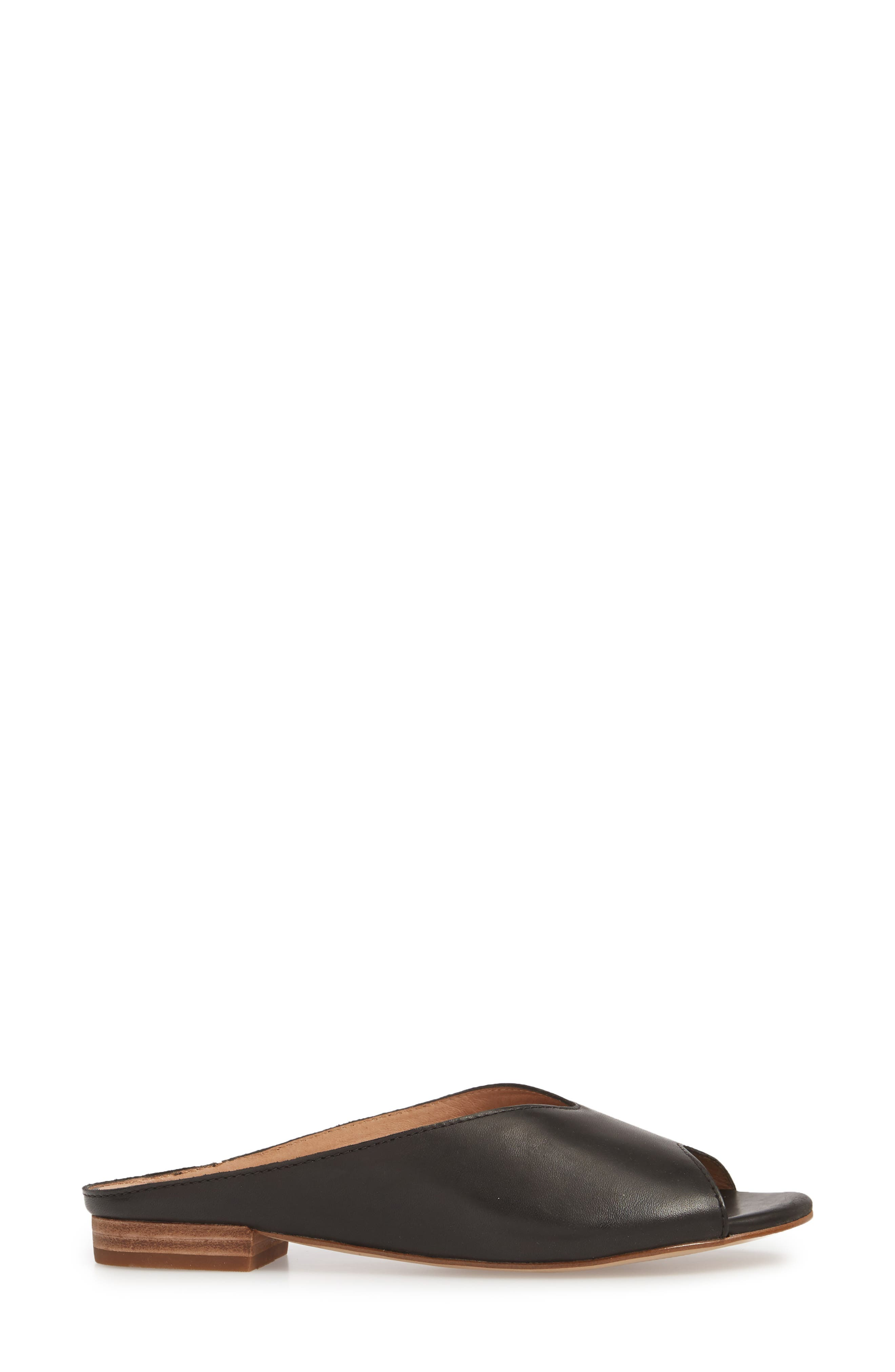 Tavi Slide Sandal,                             Alternate thumbnail 3, color,                             001