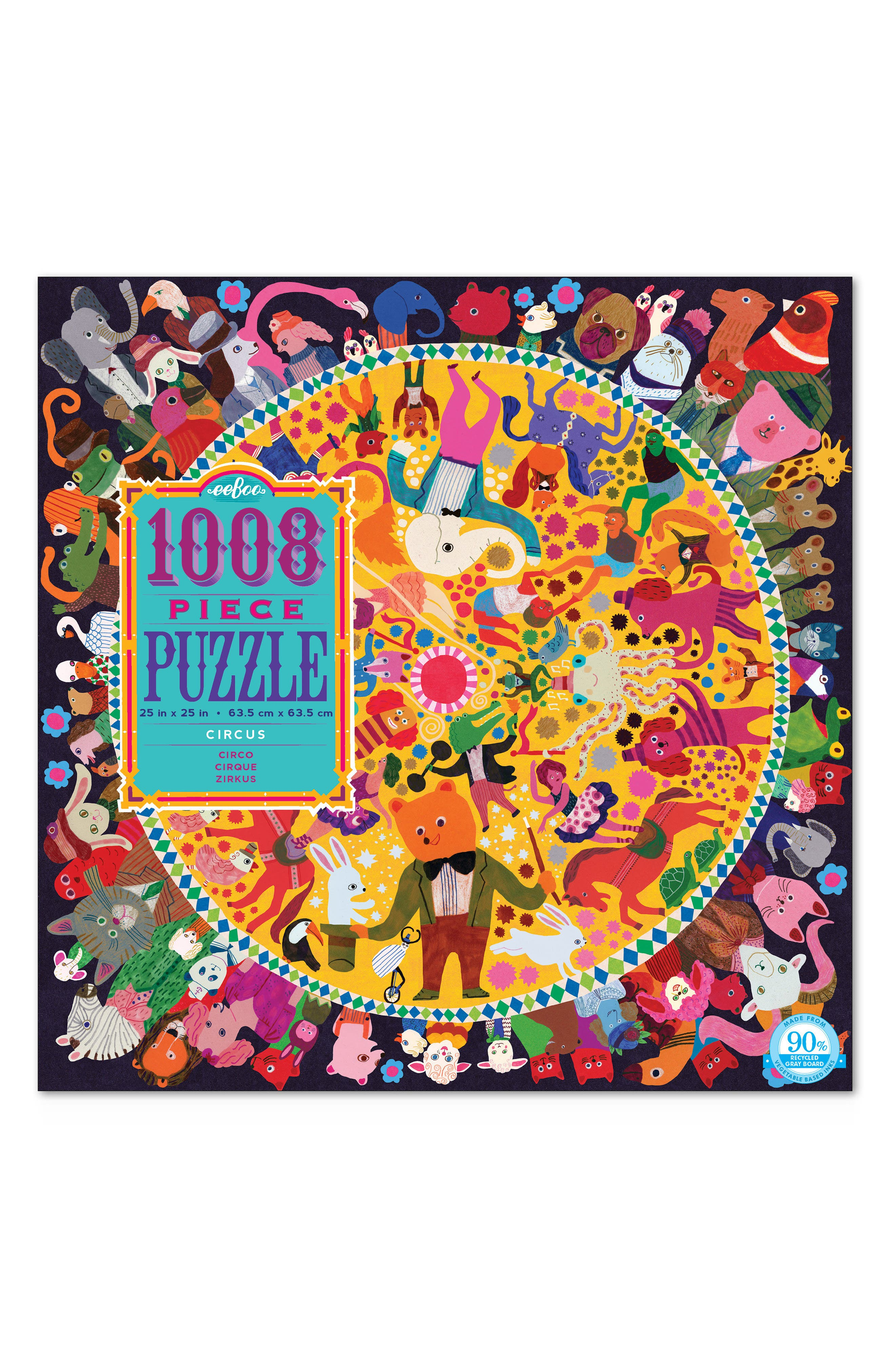 Circus Jigsaw Puzzle,                         Main,                         color, MULTI