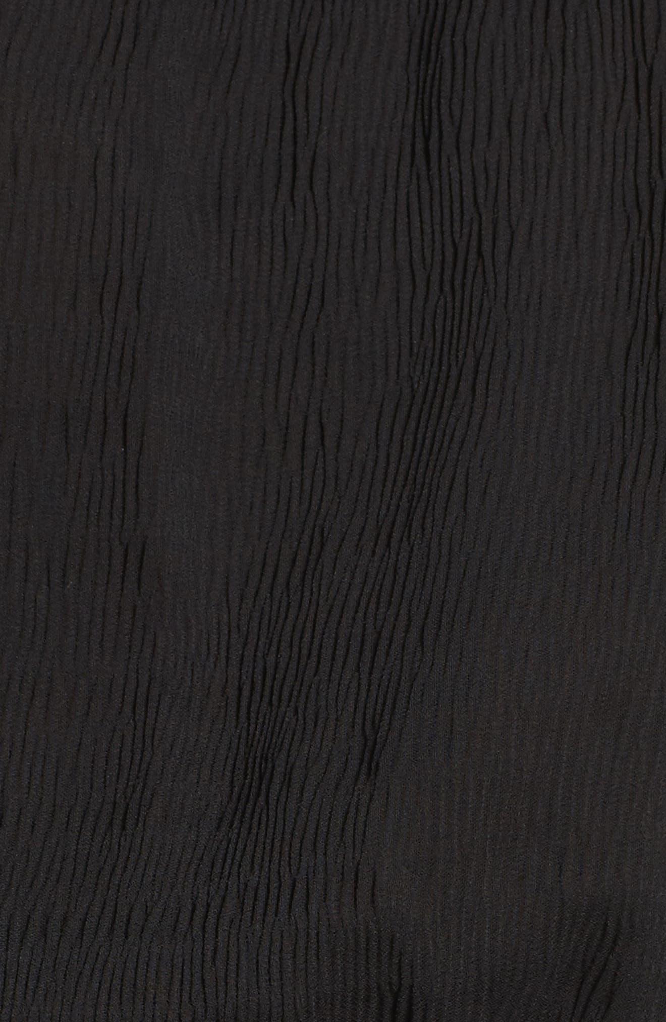 CHELSEA28,                             Off the Shoulder Midi Dress,                             Alternate thumbnail 6, color,                             001