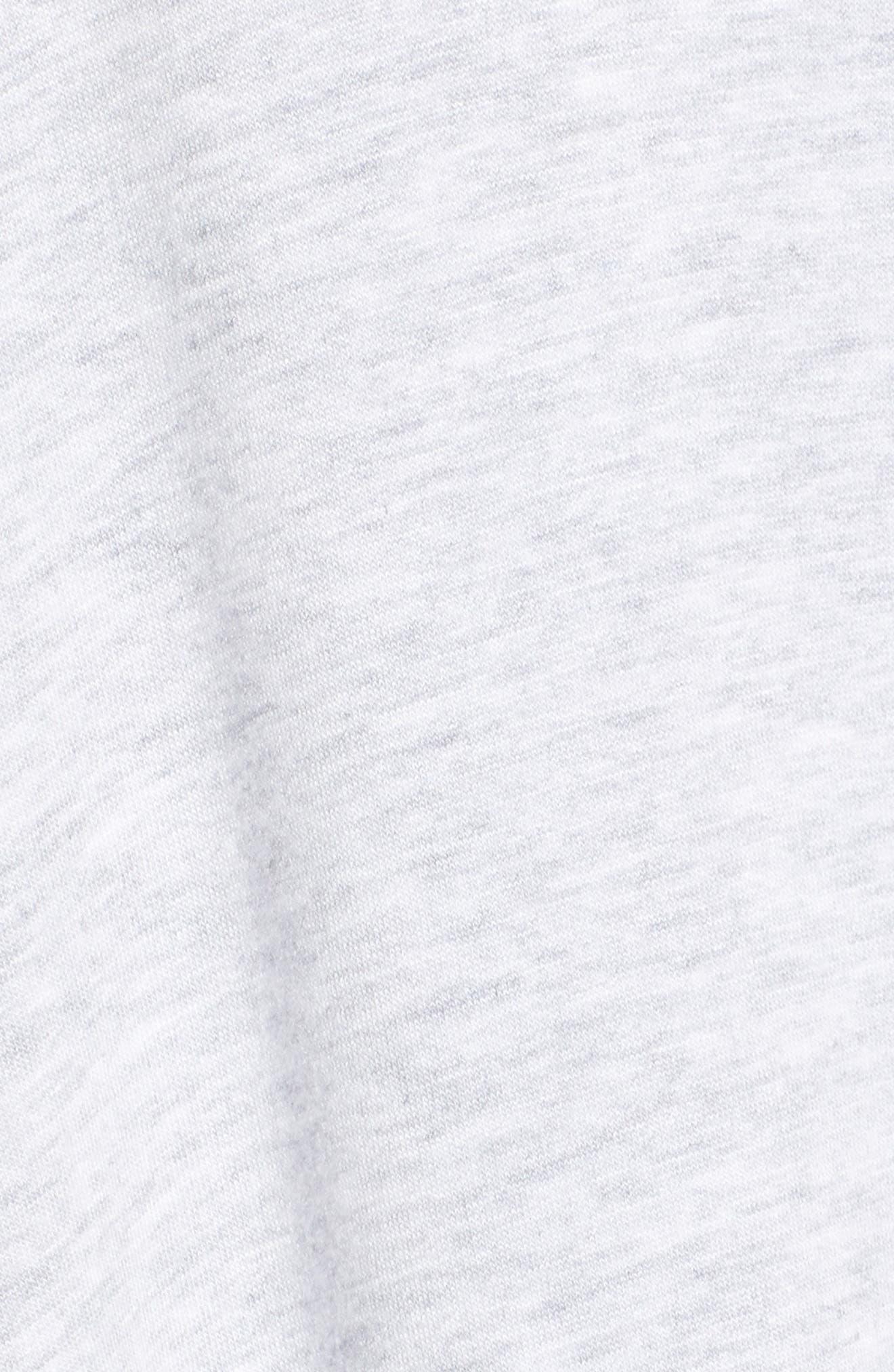 Nash Long Cardigan,                             Alternate thumbnail 5, color,                             SLEEK HEATHER GREY