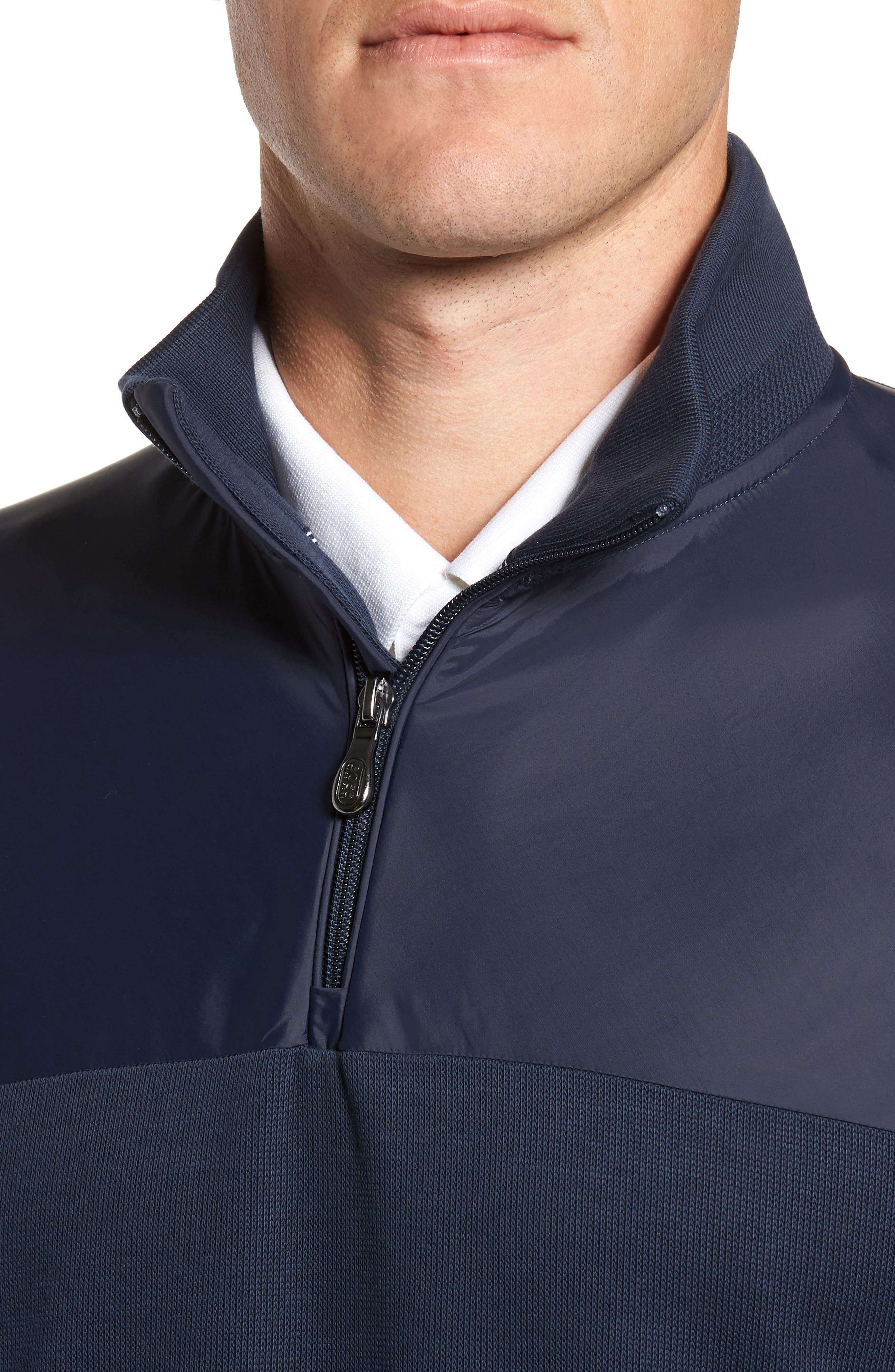 C-Piceno Quarter Zip Fleece Pullover,                             Alternate thumbnail 12, color,