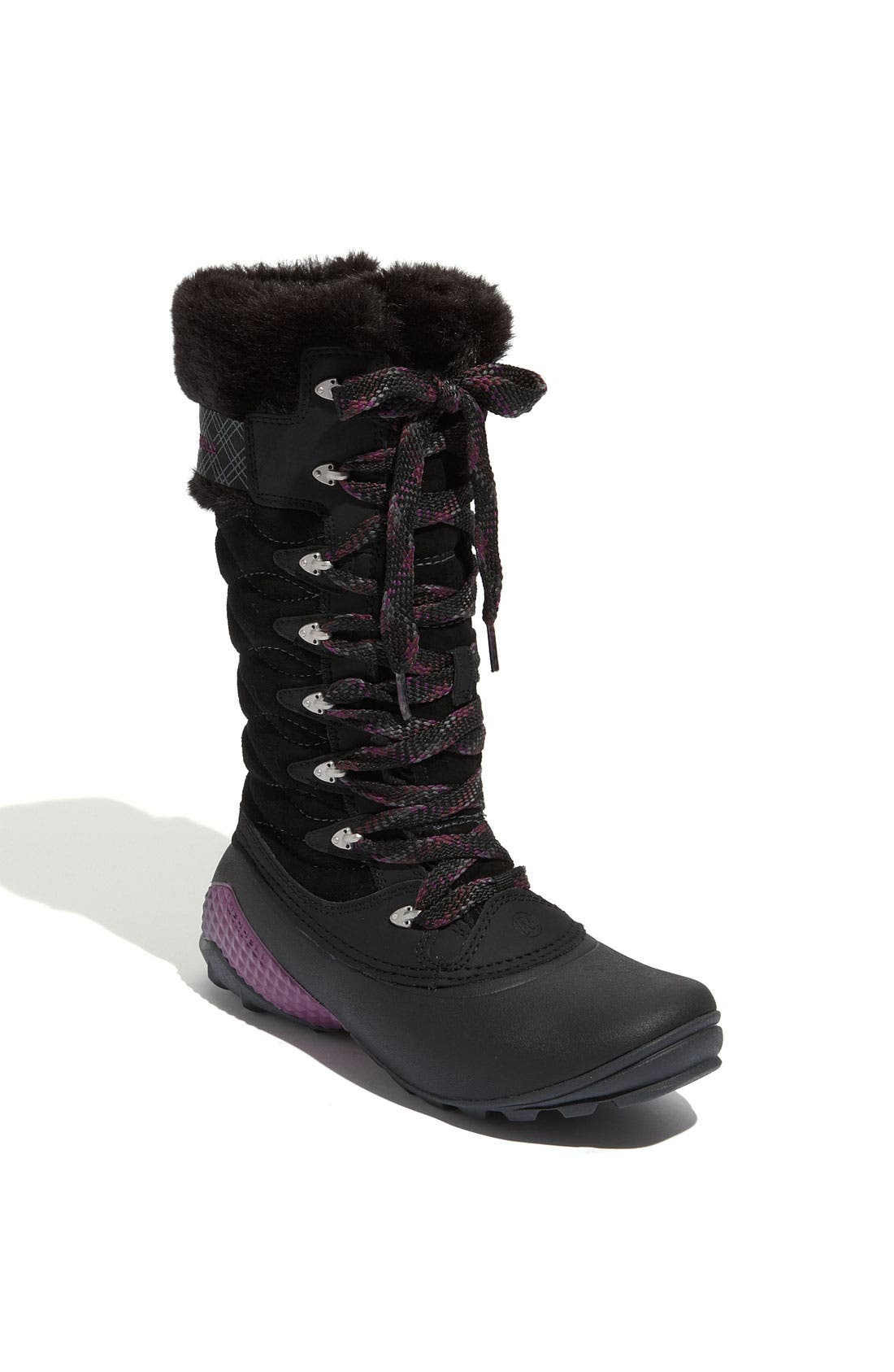 'Winterbelle Peak' Waterproof Boot,                             Main thumbnail 1, color,                             001