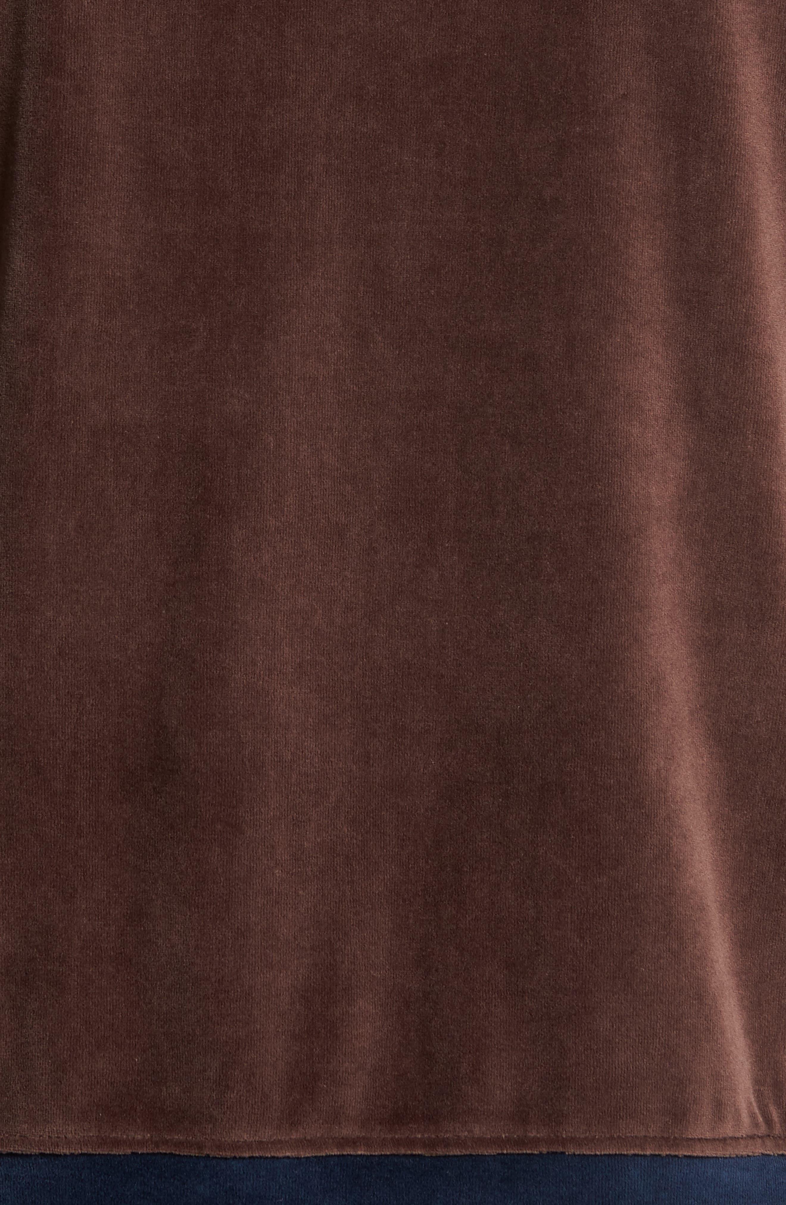 Strathcona Velour Warm-Up Suit,                             Alternate thumbnail 5, color,                             410
